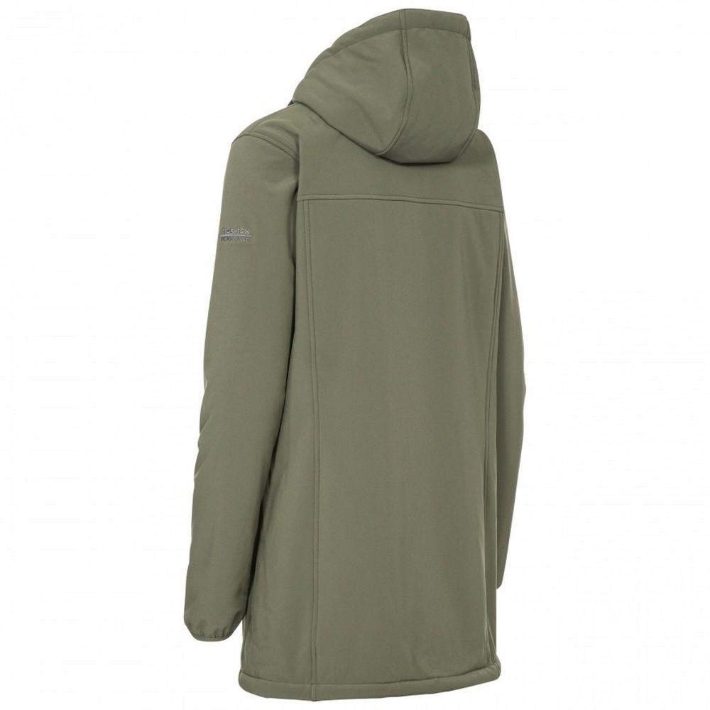 Trespass-Womens-Ladies-Kristen-Longer-Length-Hooded-Waterproof-Jacket-TP4195 thumbnail 15