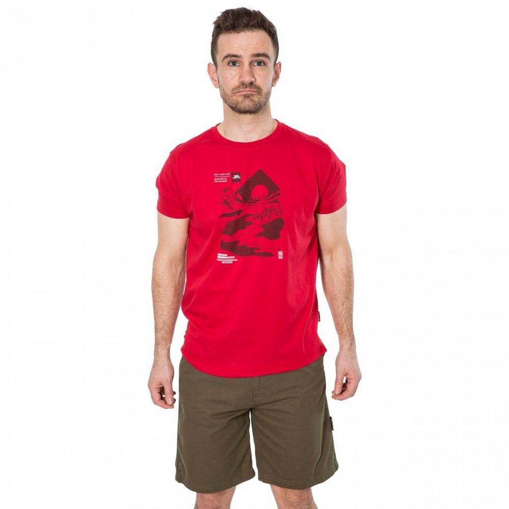 Trespass-Mens-Landscape-T-Shirt-TP4309 thumbnail 8