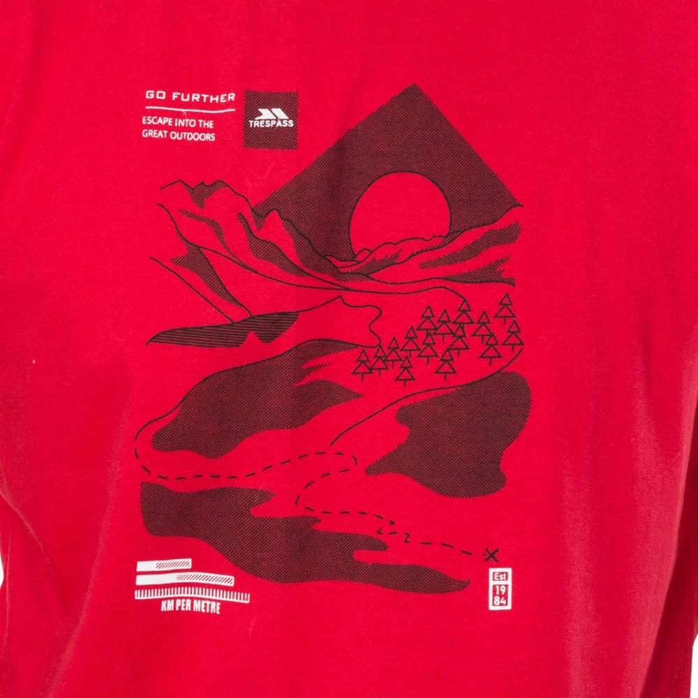 Trespass-Mens-Landscape-T-Shirt-TP4309 thumbnail 10