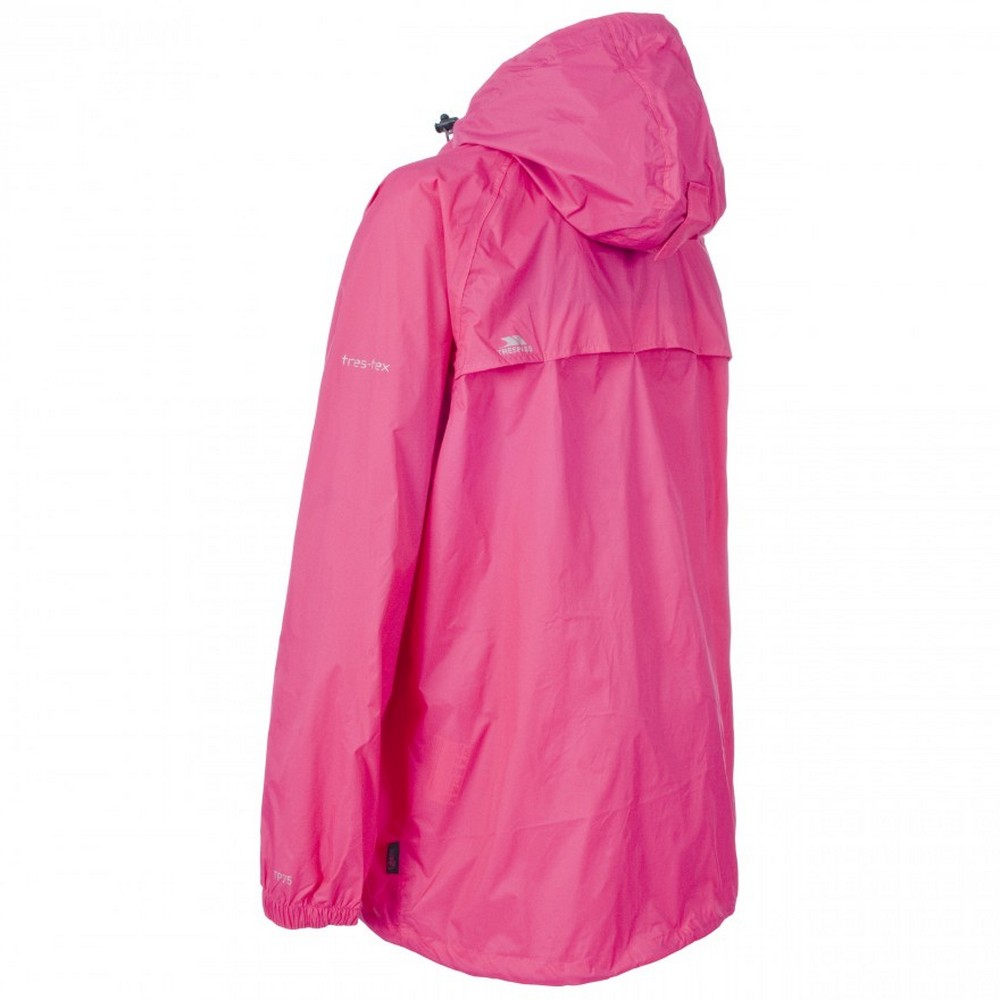 Trespass Adults Mens//Womens Qikpac Packaway Waterproof Jacket//Coat TP433
