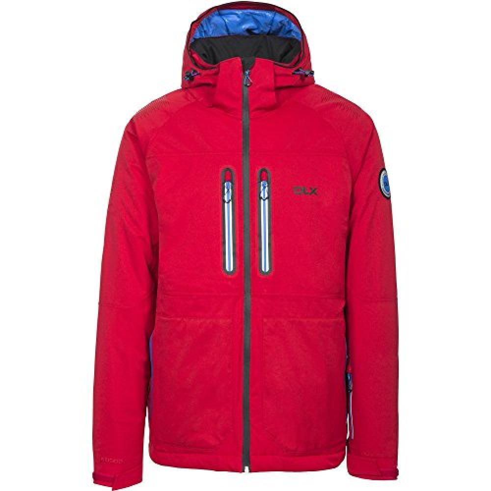 Trespass Mens Allen Waterproof Ski Jacket (XS) (Red)