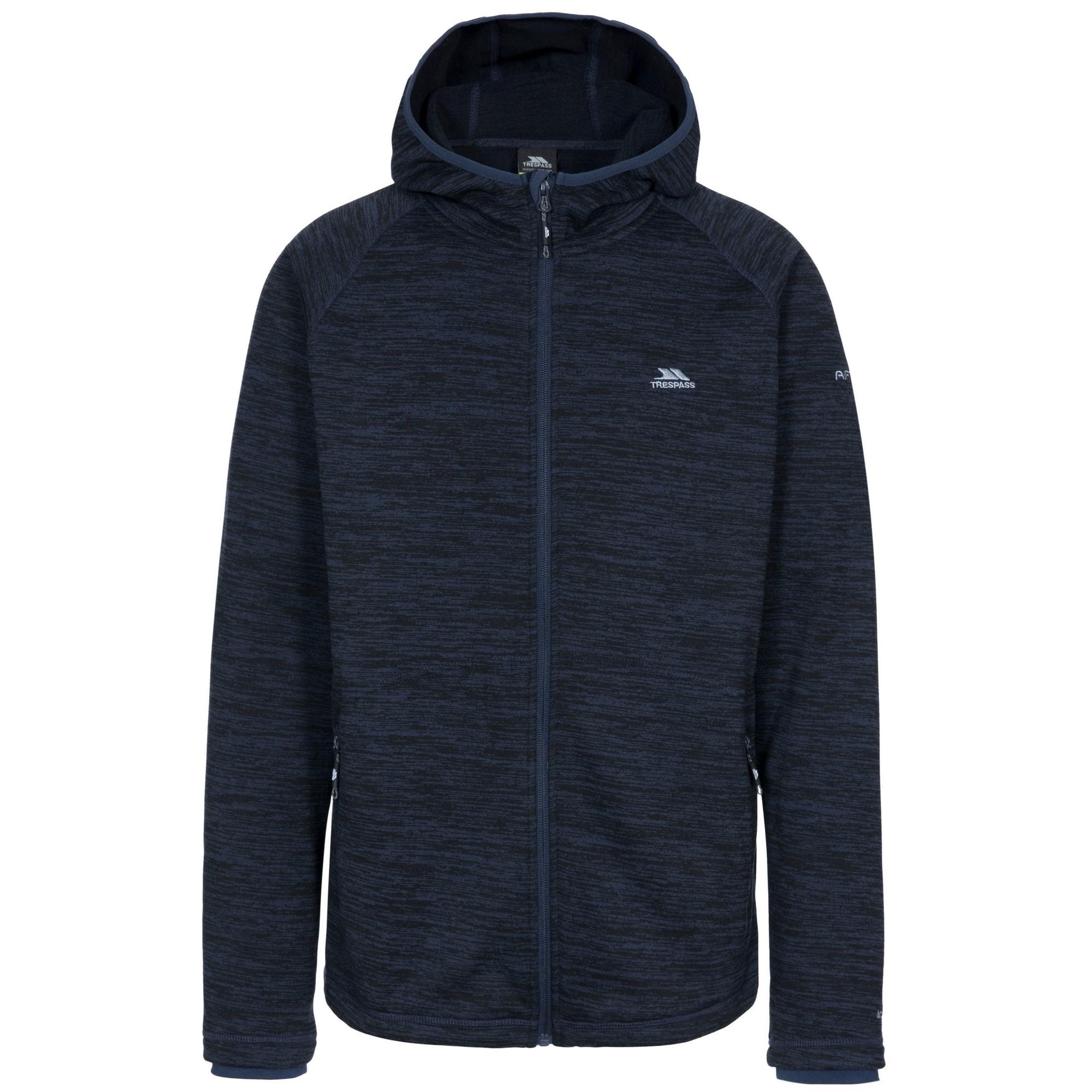 Trespass Mens Northwood Fleece Jacket (XXXL) (Navy Marl)