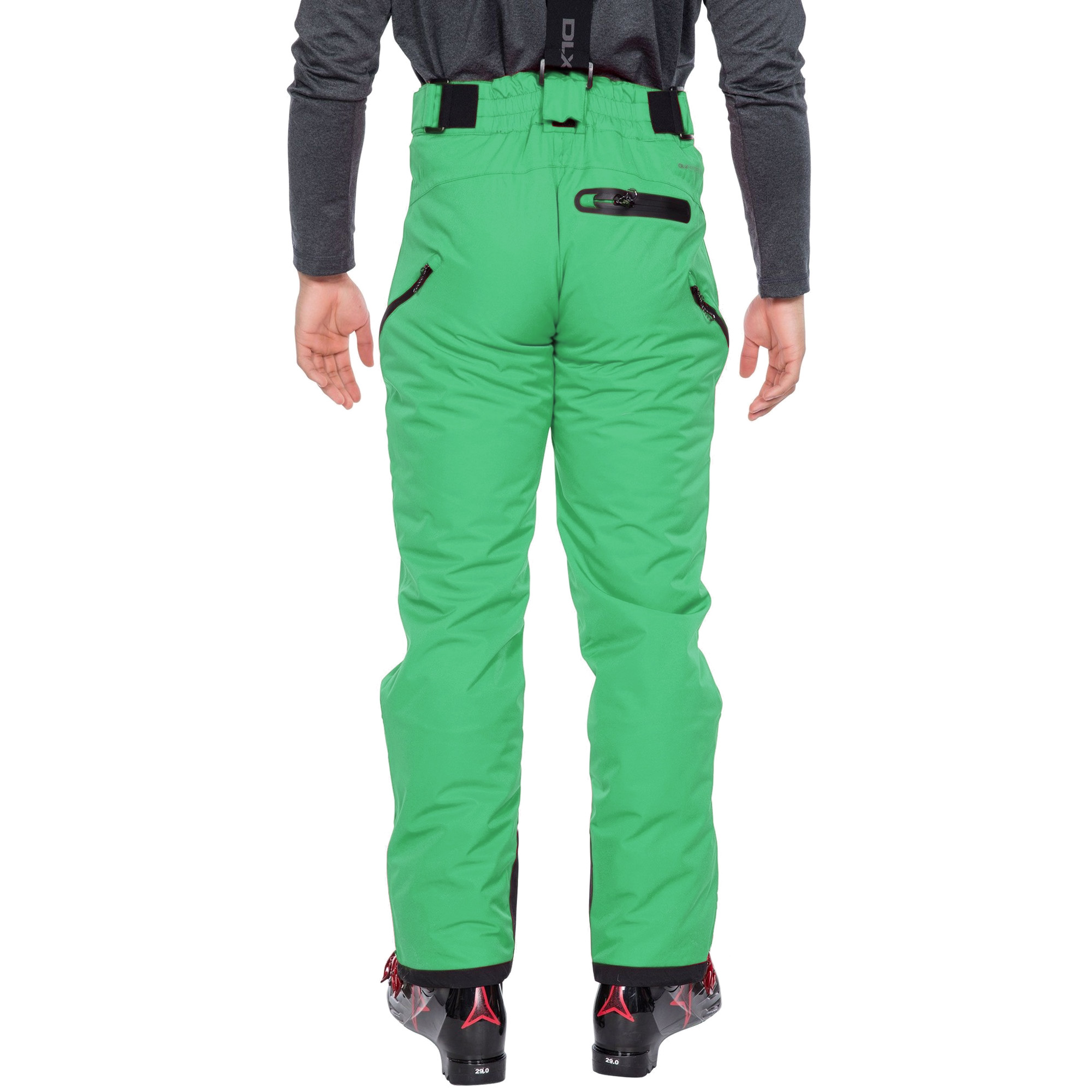 Trespass Mens Kristoff Stretch Ski Trousers (S) (Black)