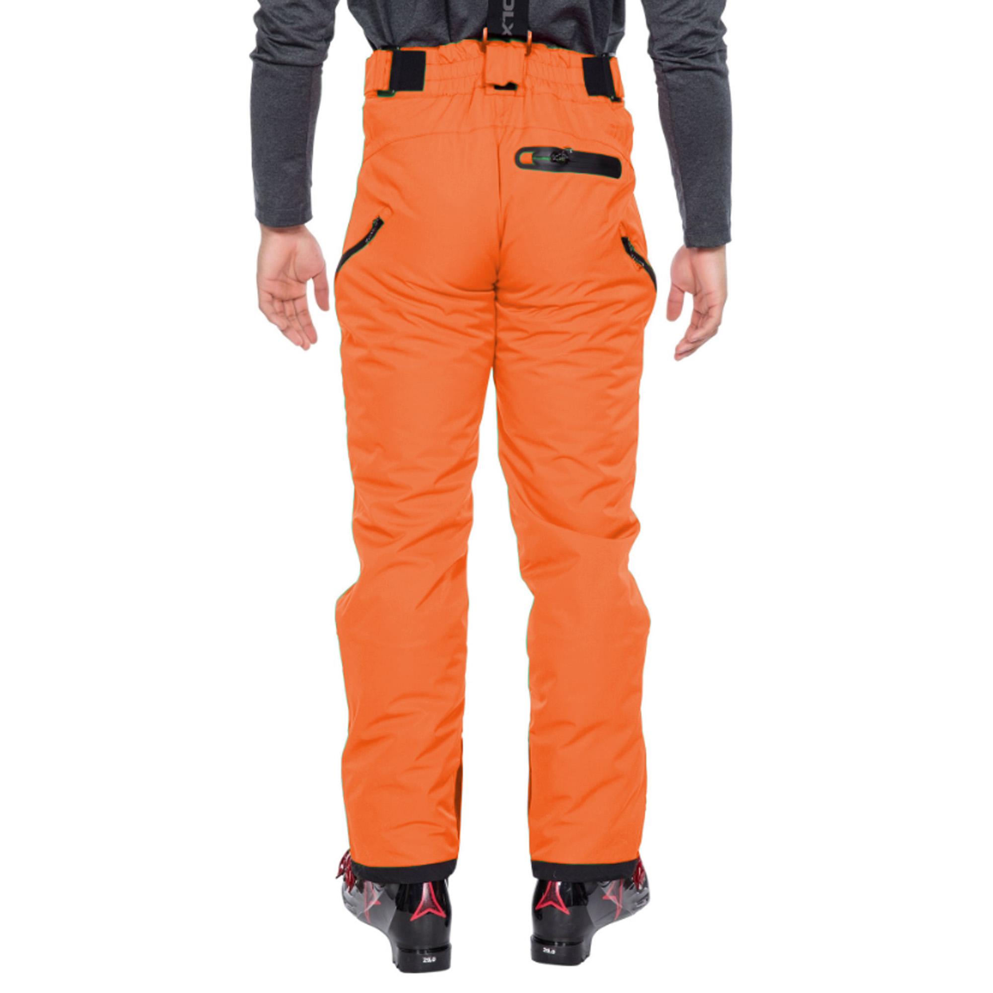 Trespass Mens Kristoff Stretch Ski Trousers (XXL) (Red)