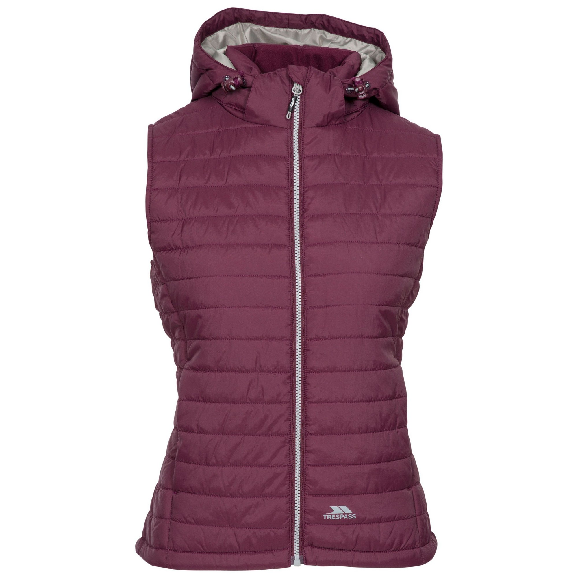 Trespass Womens/Ladies Aretha Casual Gilet (XXS) (Fig)