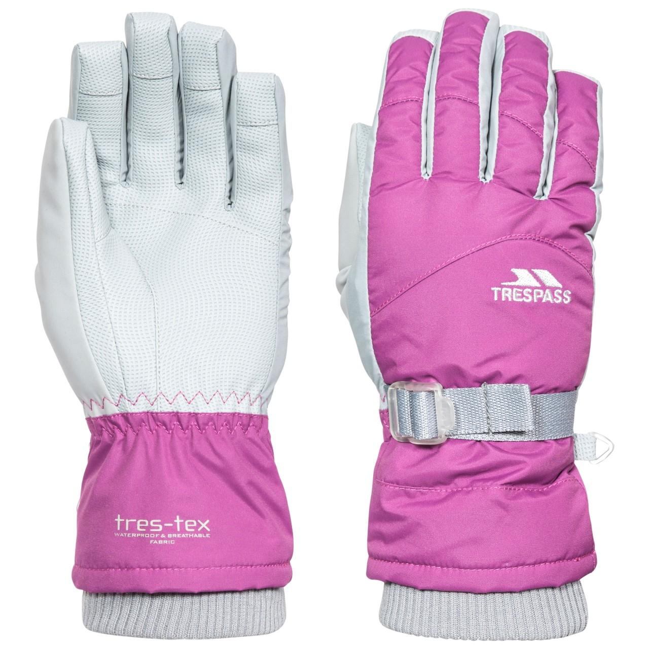 Trespass Womens/Ladies Vizza II Gloves (S) (Purple Orchid)