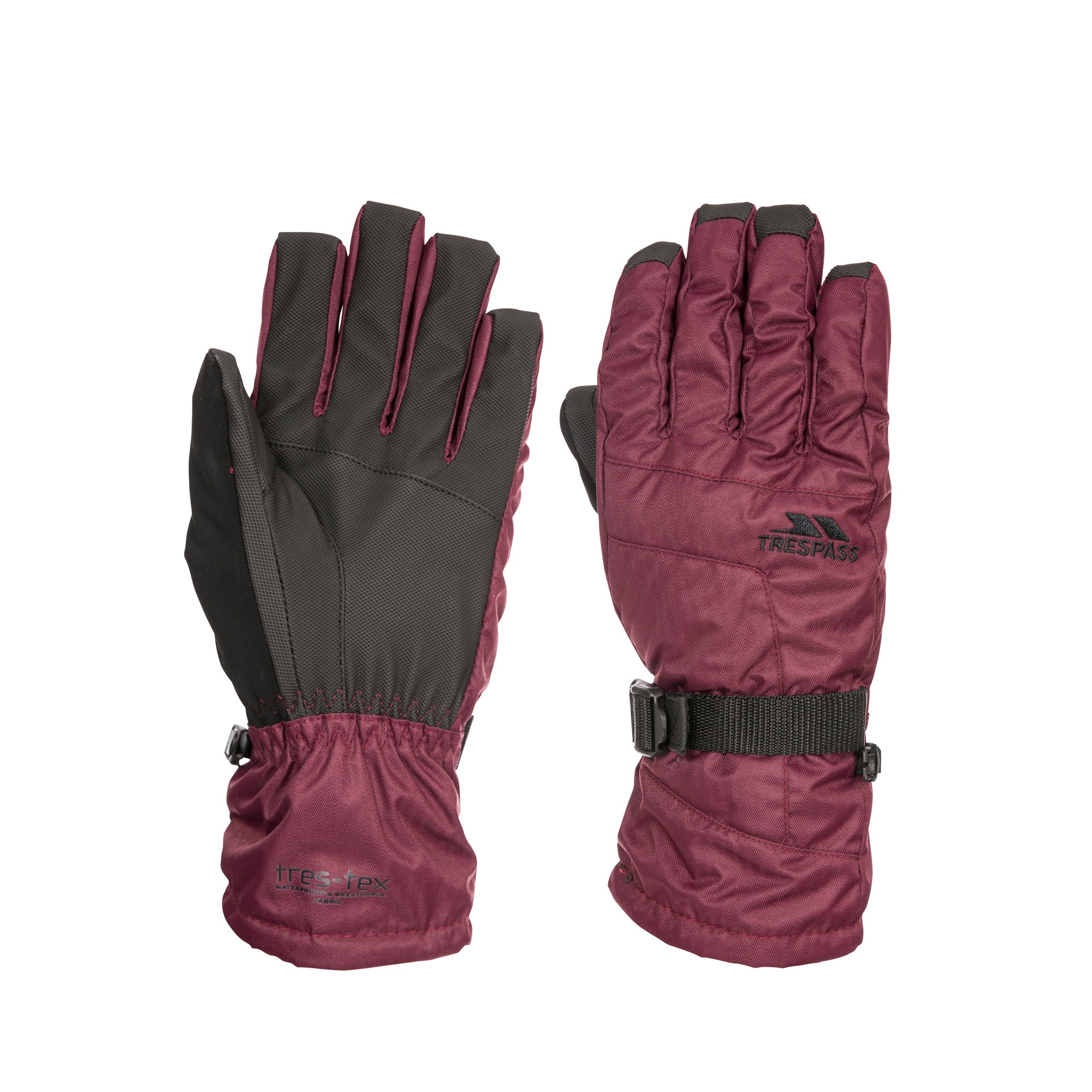 Trespass Womens/Ladies Embray Gloves (M) (Fig)