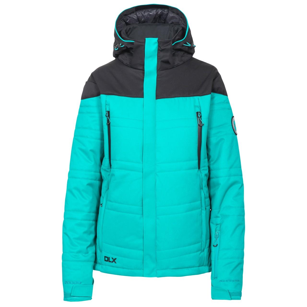 Trespass Womens/Ladies Thandie Ski Jacket (XS) (Ocean Green)