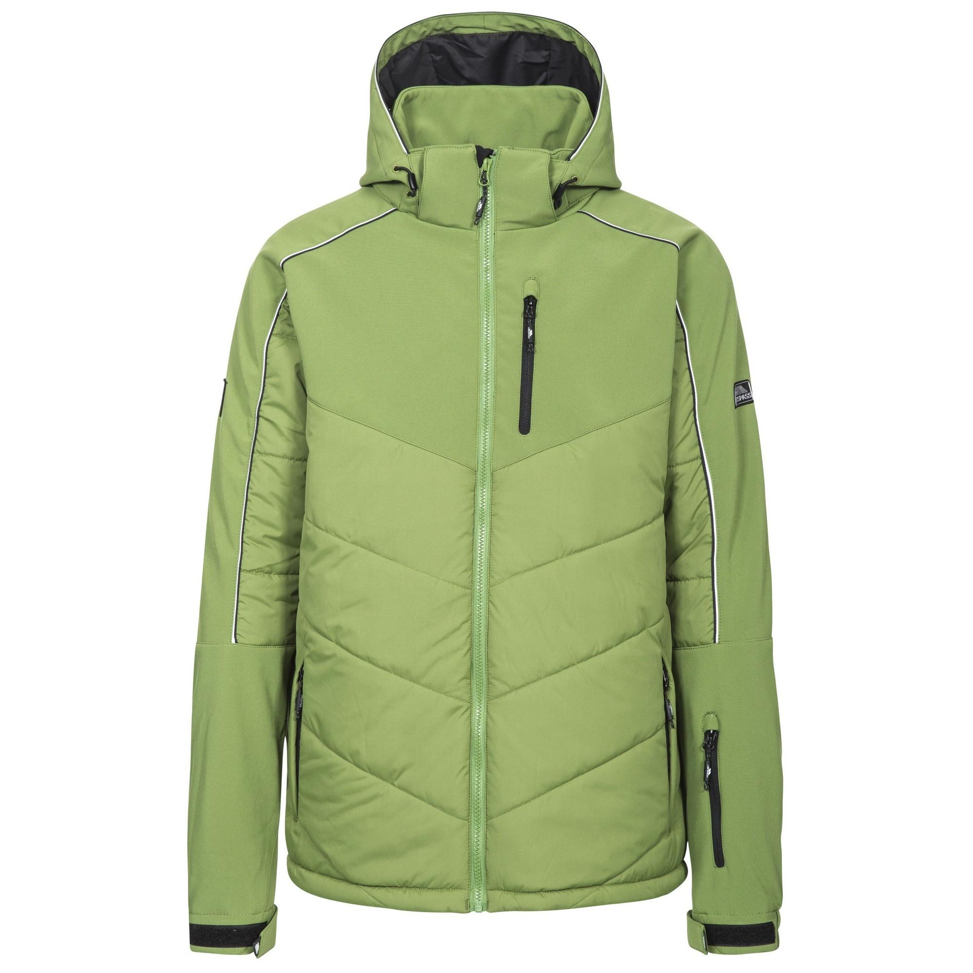 Trespass Mens Taran Hooded Ski Jacket (L) (Fern)