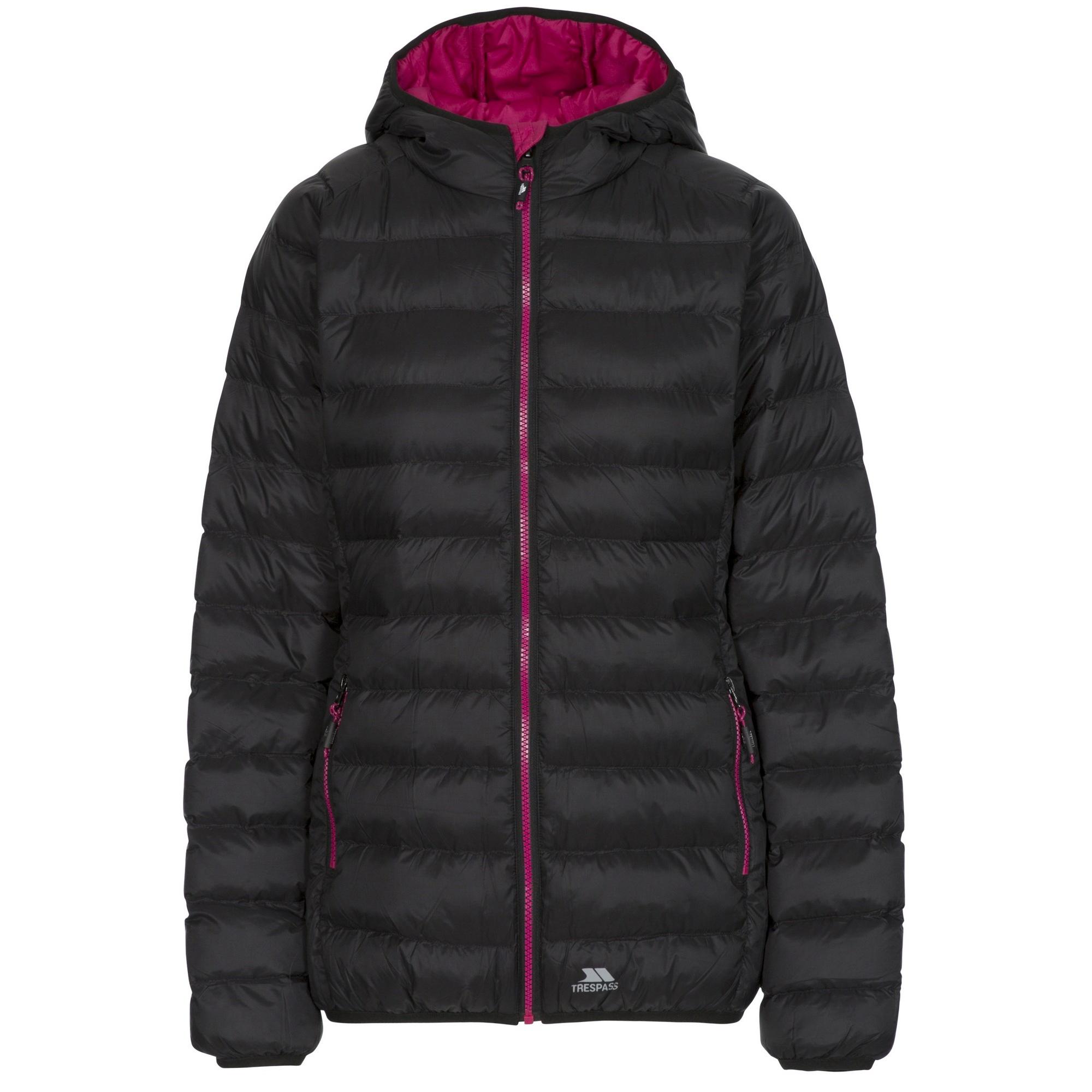 Trespass Womens/Ladies Abigail Casual Padded Jacket (S) (Black)