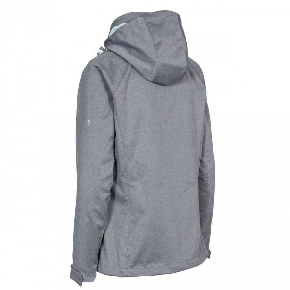 Trespass-Womens-Ladies-Drea-Waterproof-Softshell-Jacket-TP4655 thumbnail 6
