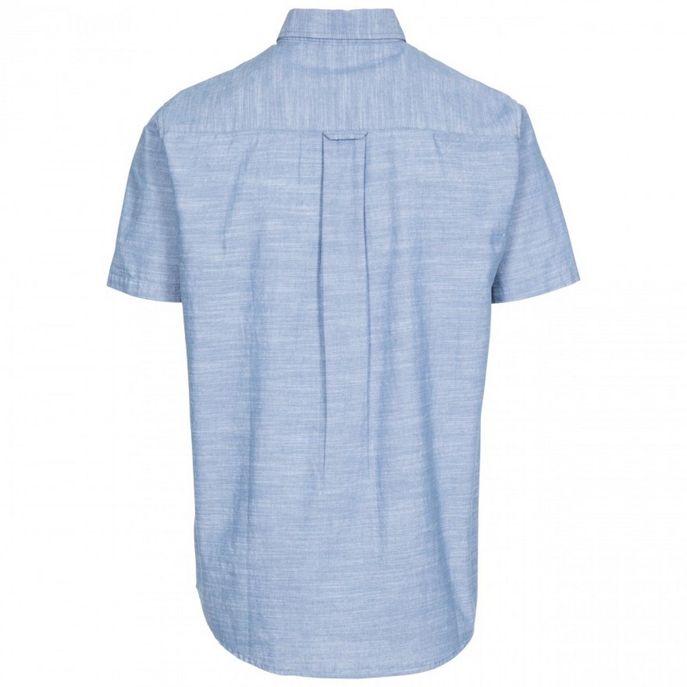 Trespass-Mens-Slapton-Short-Sleeve-Shirt-TP4686 thumbnail 4