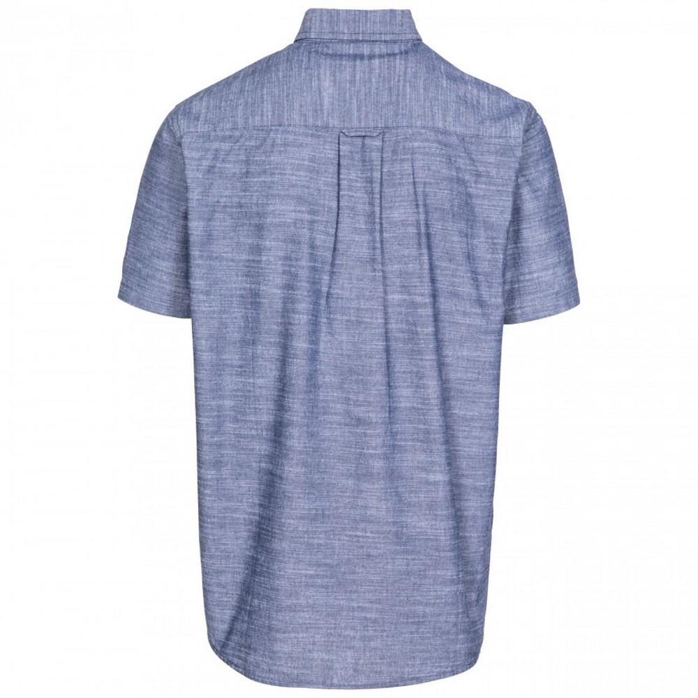 Trespass-Mens-Slapton-Short-Sleeve-Shirt-TP4686 thumbnail 12