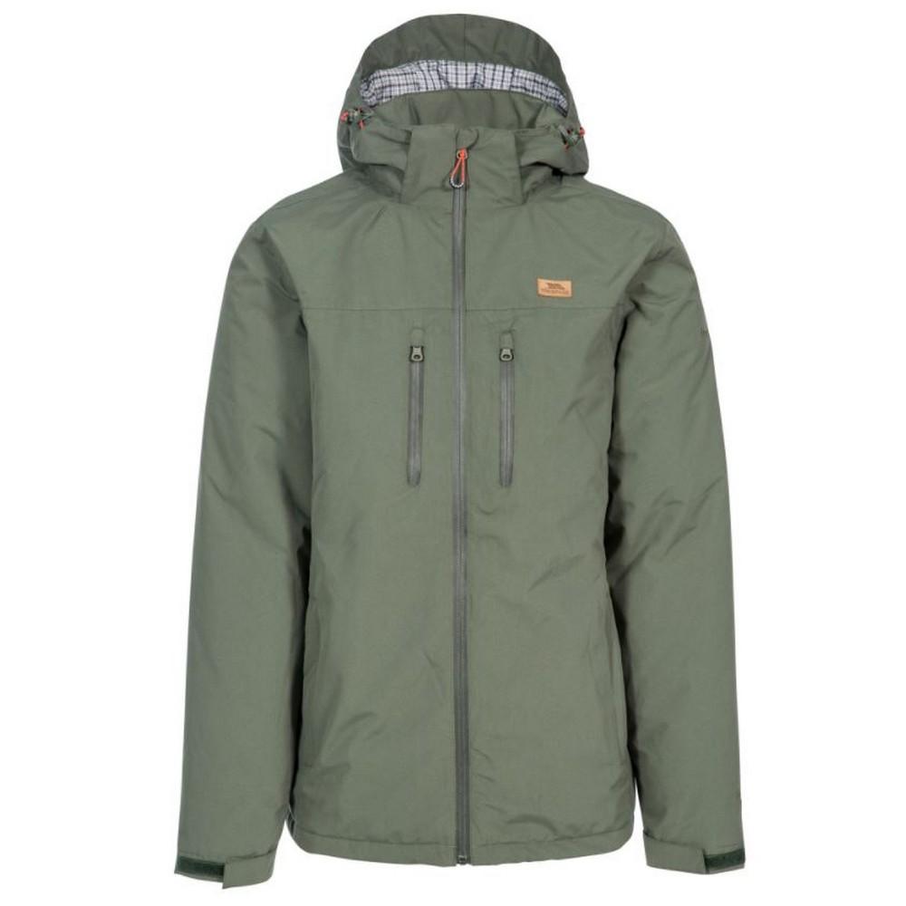 Trespass Mens Toffit Waterproof Jacket (S) (Basil)