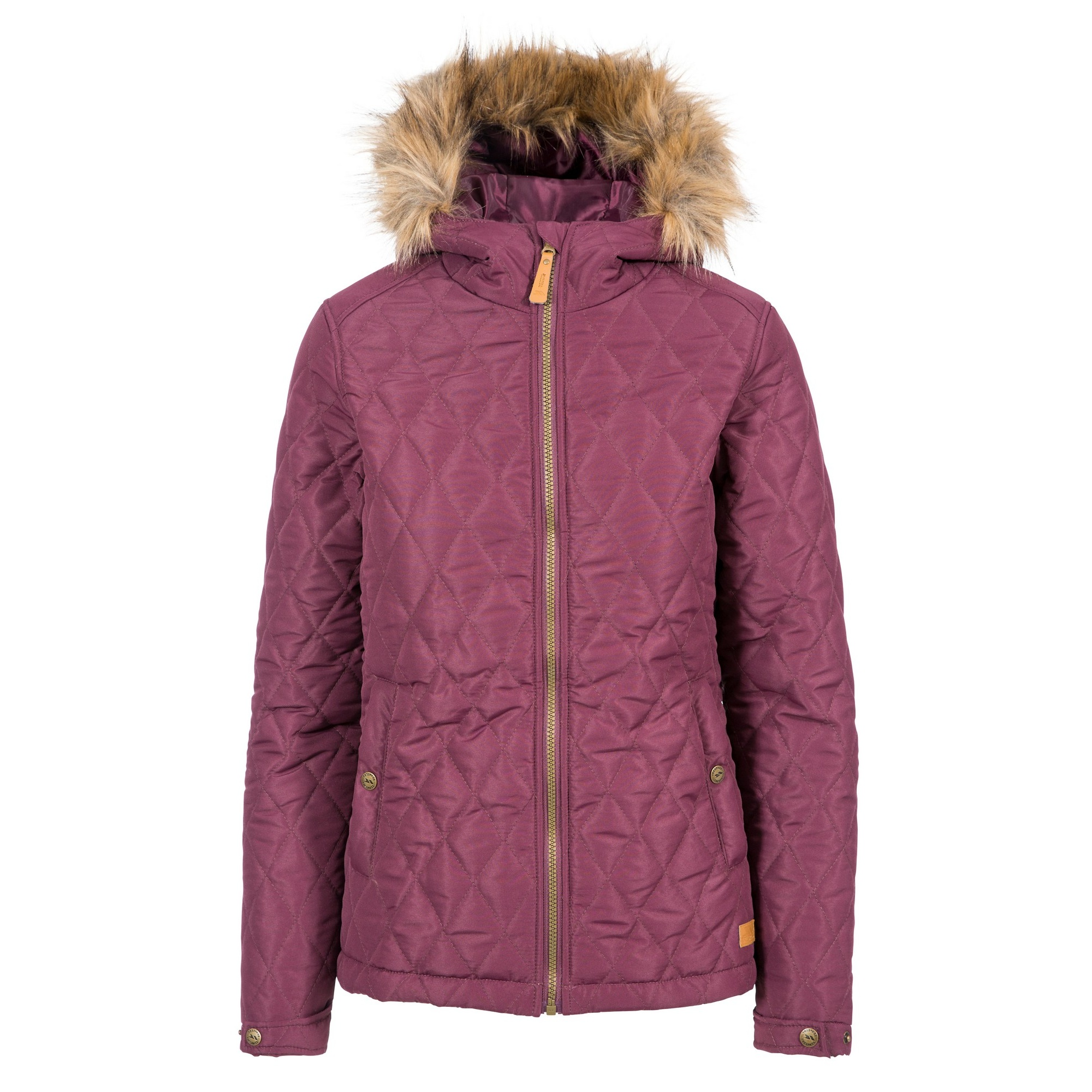 Trespass Womens/Ladies Genevieve Quilted Jacket (XS) (Fig)
