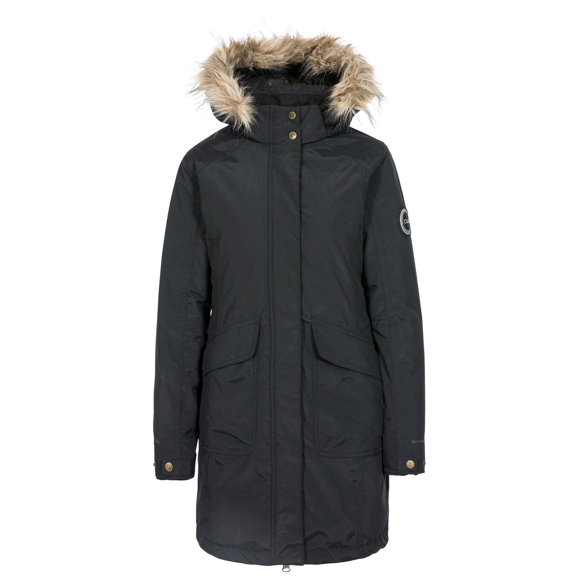Trespass Womens/ladies Bettany Dlx Down Jacket (3XL) (Black)