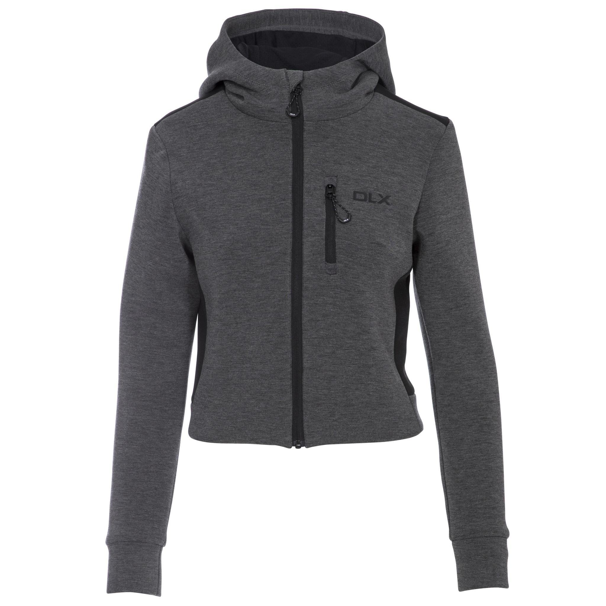 Trespass Womens/ladies Fernanda DLX Track Jacket (L) (Grey Marl)