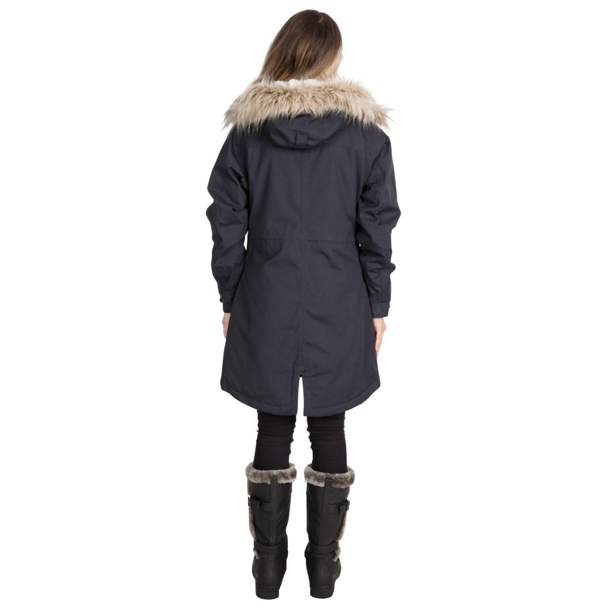 Trespass Womens/Ladies Faithful Waterproof Jacket (XXL) (Merlot)