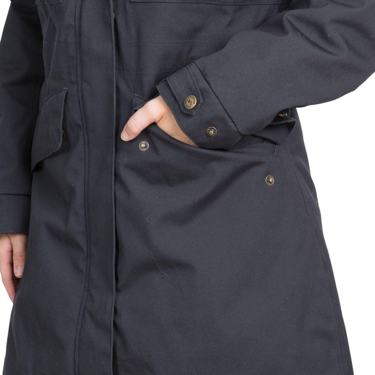 Trespass Womens/Ladies Faithful Waterproof Jacket (S) (Sandstone)