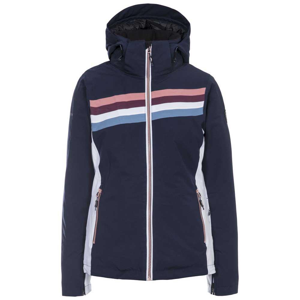 Trespass Womens/Ladies Broadcast Ski Jacket (XXS) (Navy)
