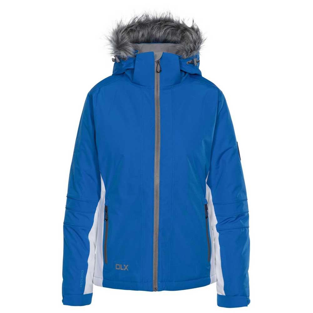 Trespass Womens/Ladies Sandrine Waterproof Ski Jacket (L) (Vibrant Blue)