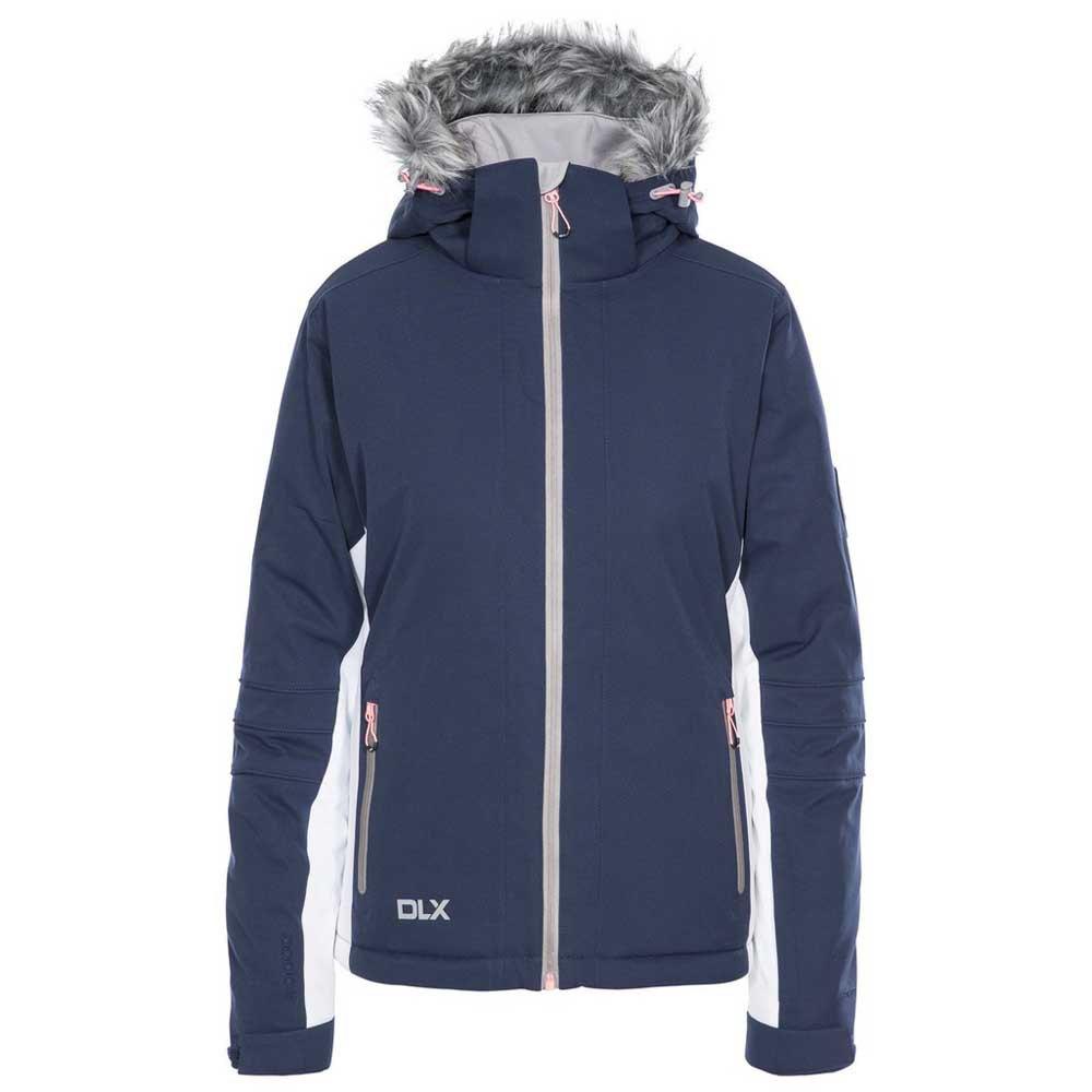 Trespass Womens/Ladies Sandrine Waterproof Ski Jacket (M) (Navy)
