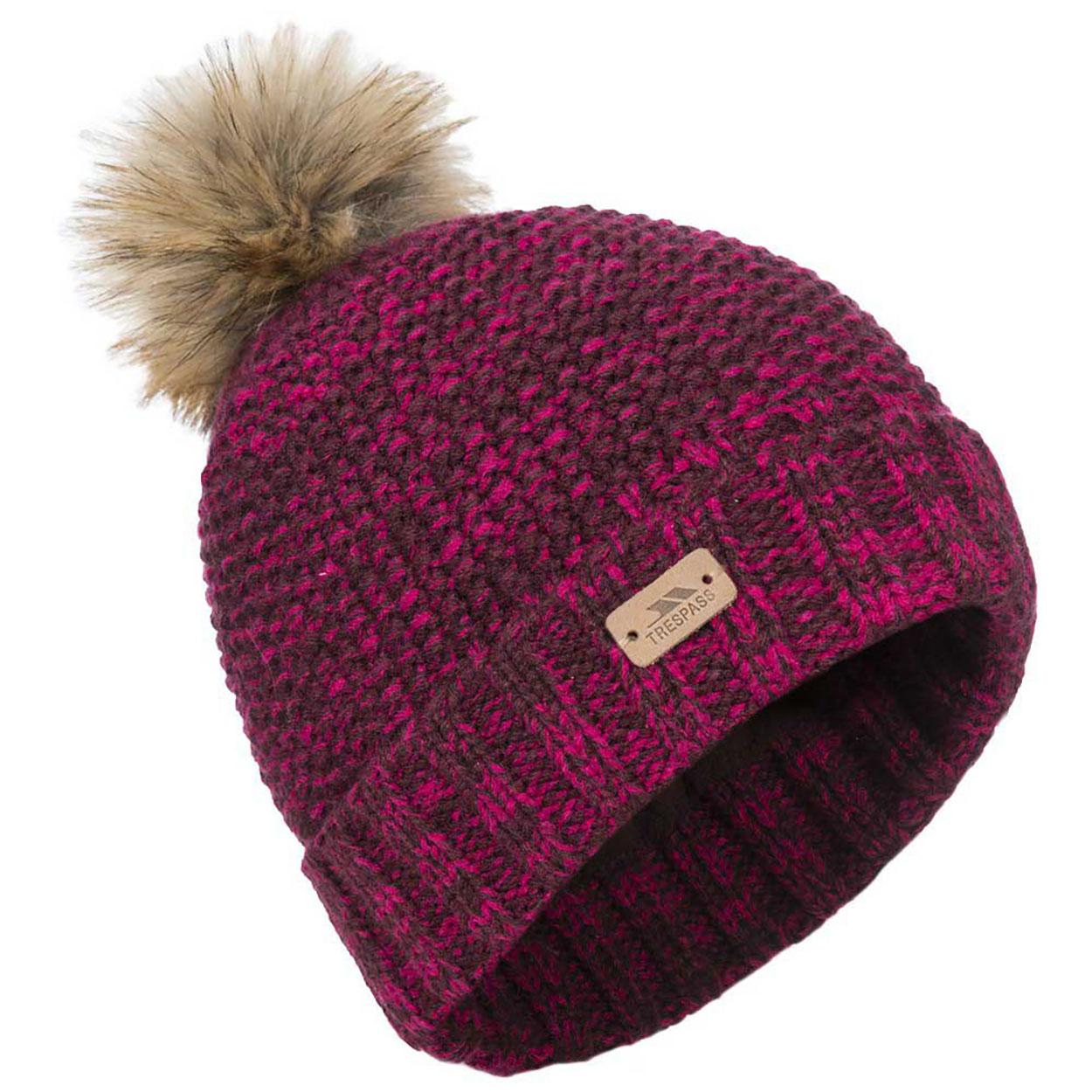 Trespass Womens/Ladies Kellisa Beanie Hat (One Size) (Fig)