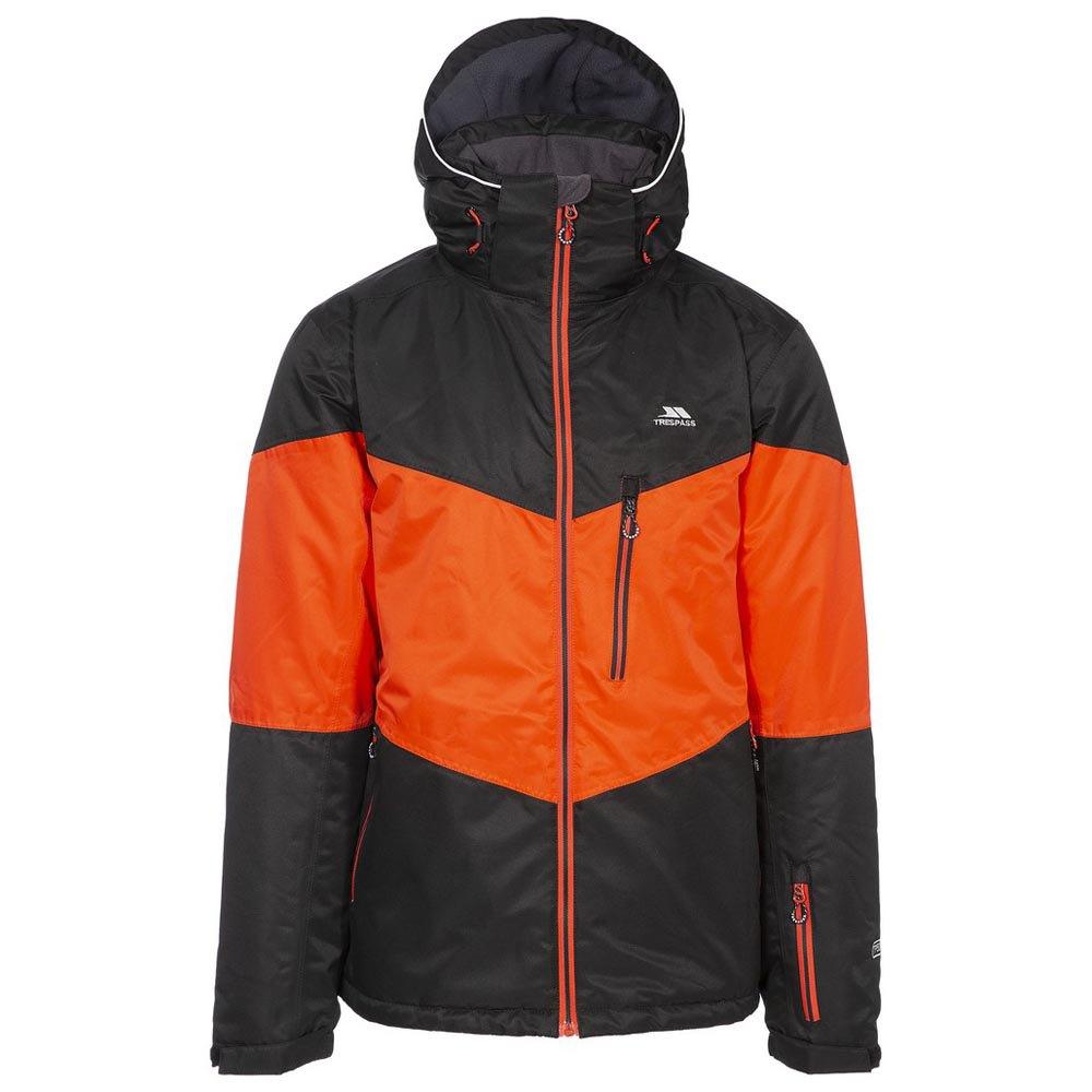 Trespass Mens Alport Ski Jacket (S) (Black)