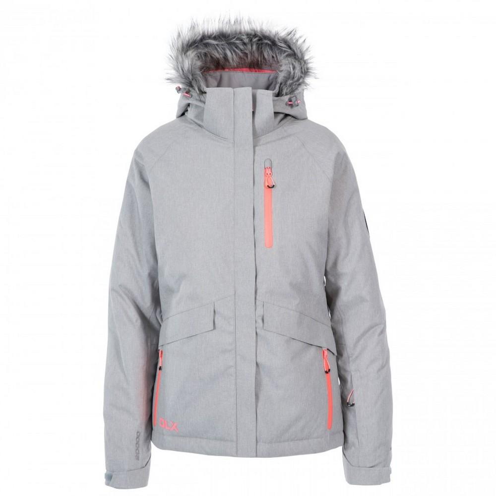 Trespass Womens/Ladies Francesca DLX Ski Jacket (XS) (Platinum Marl)