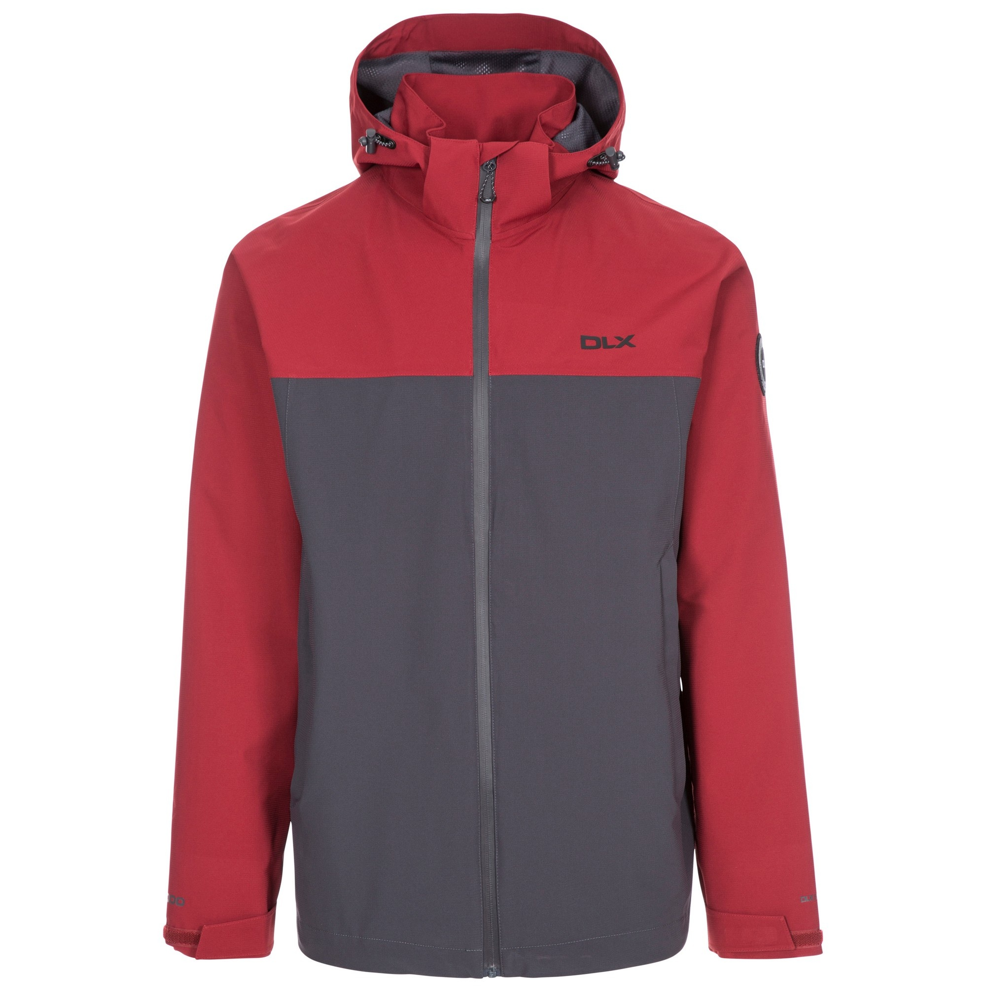 Trespass Mens Marton Waterproof Jacket (XXL) (Merlot)