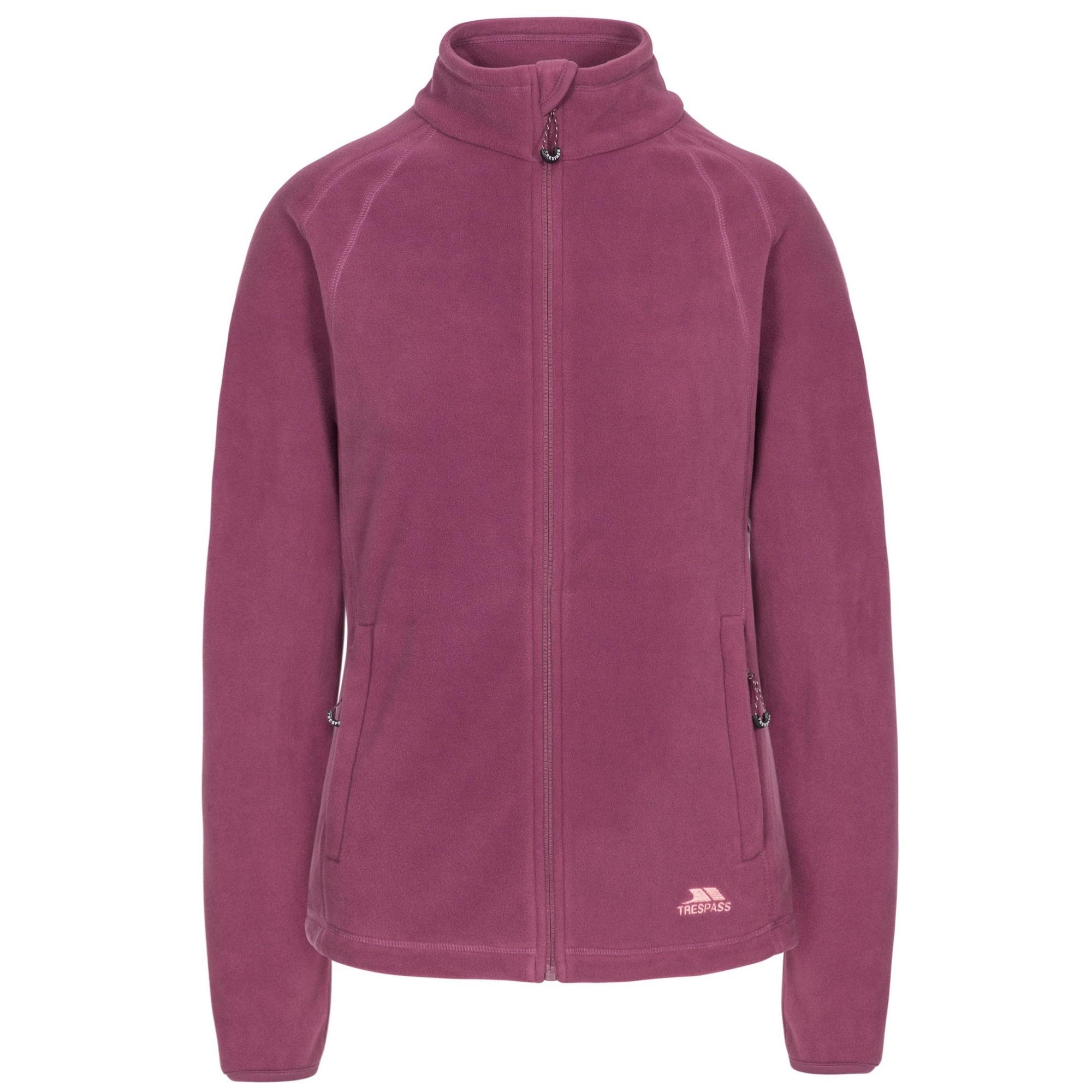 Trespass Womens/Ladies Nonstop Fleece Jacket (3XL) (Mauve)