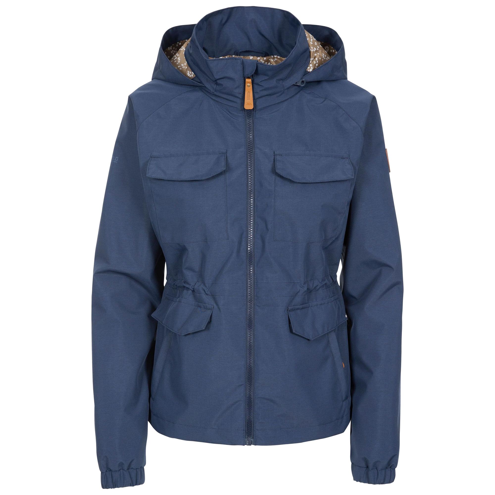 Trespass Womens/Ladies Busybee Waterproof Jacket (XS) (Navy)