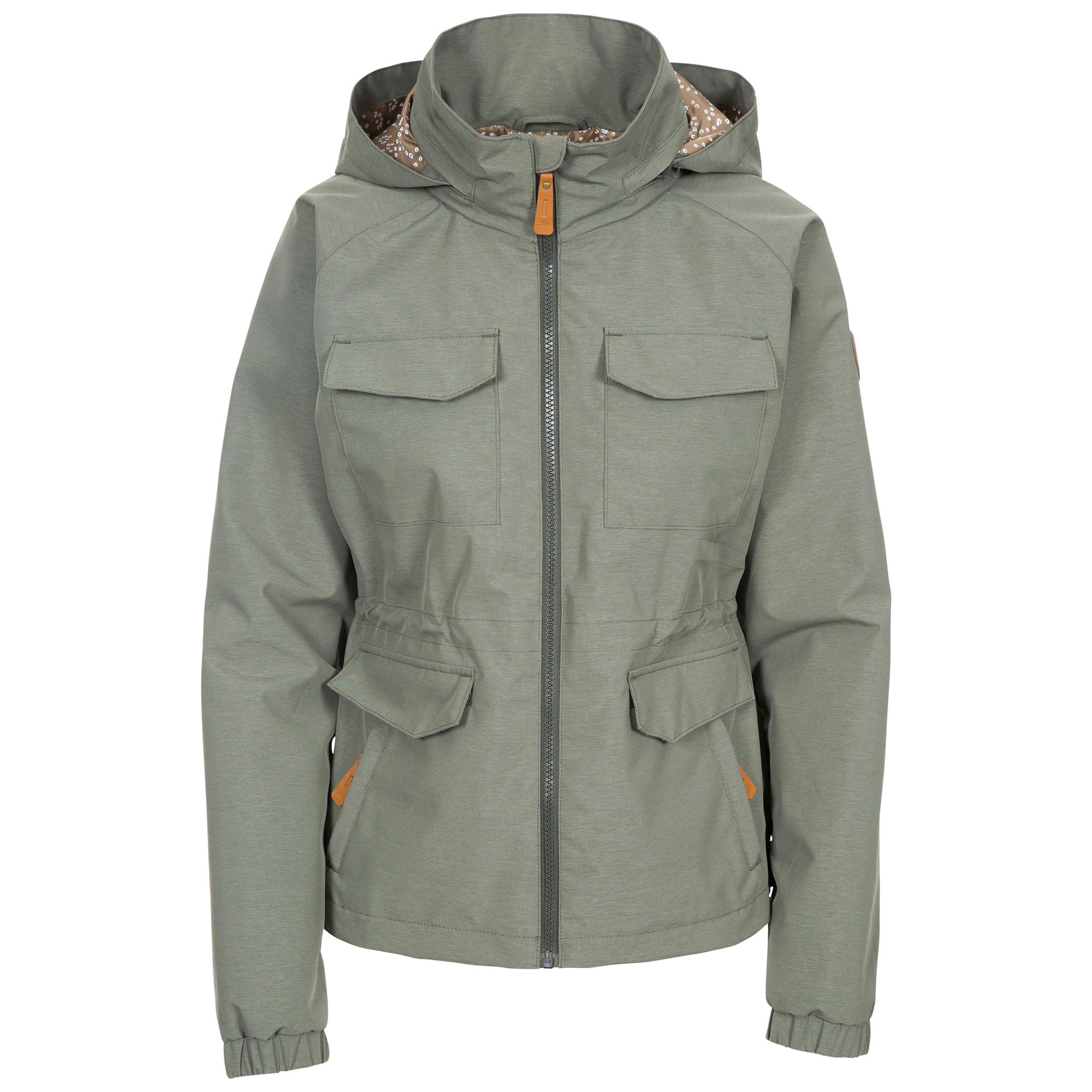 Trespass Womens/Ladies Busybee Waterproof Jacket (XXL) (Moss)