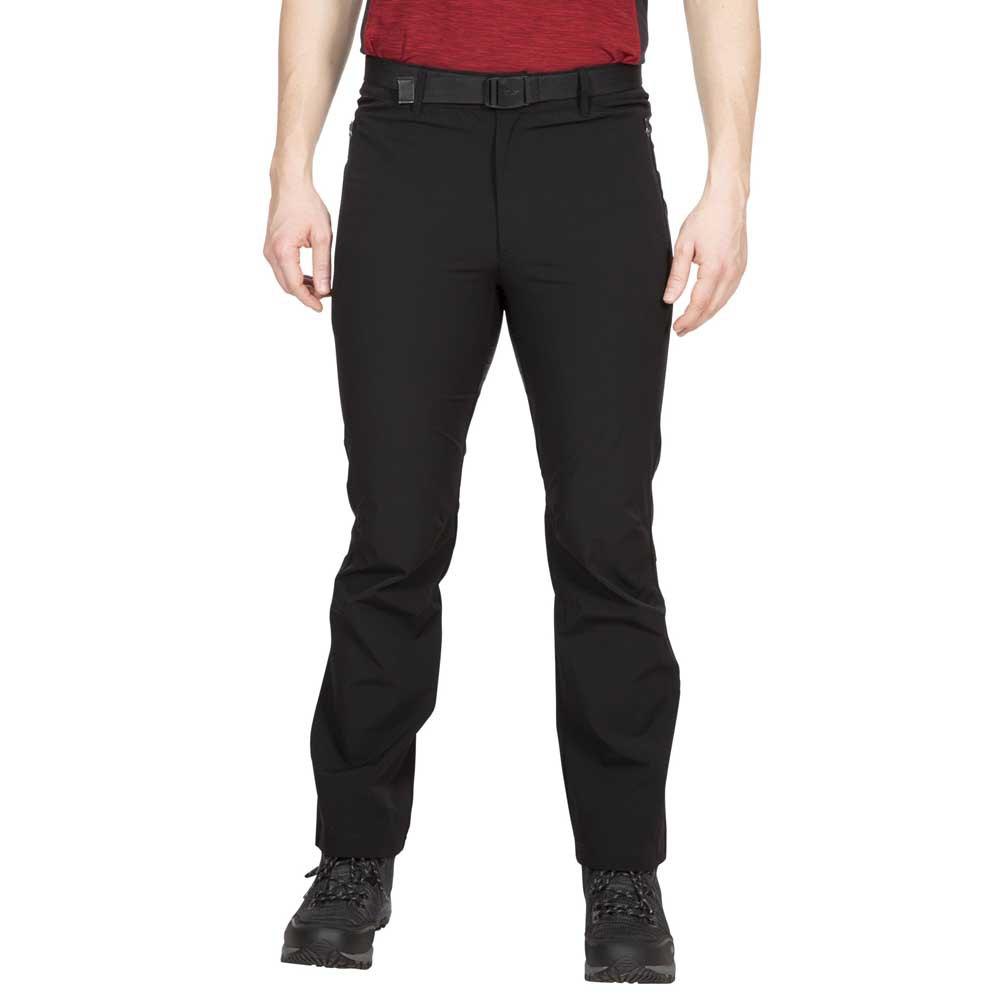 Trespass Mens Hartley Trousers (XXL) (Black)