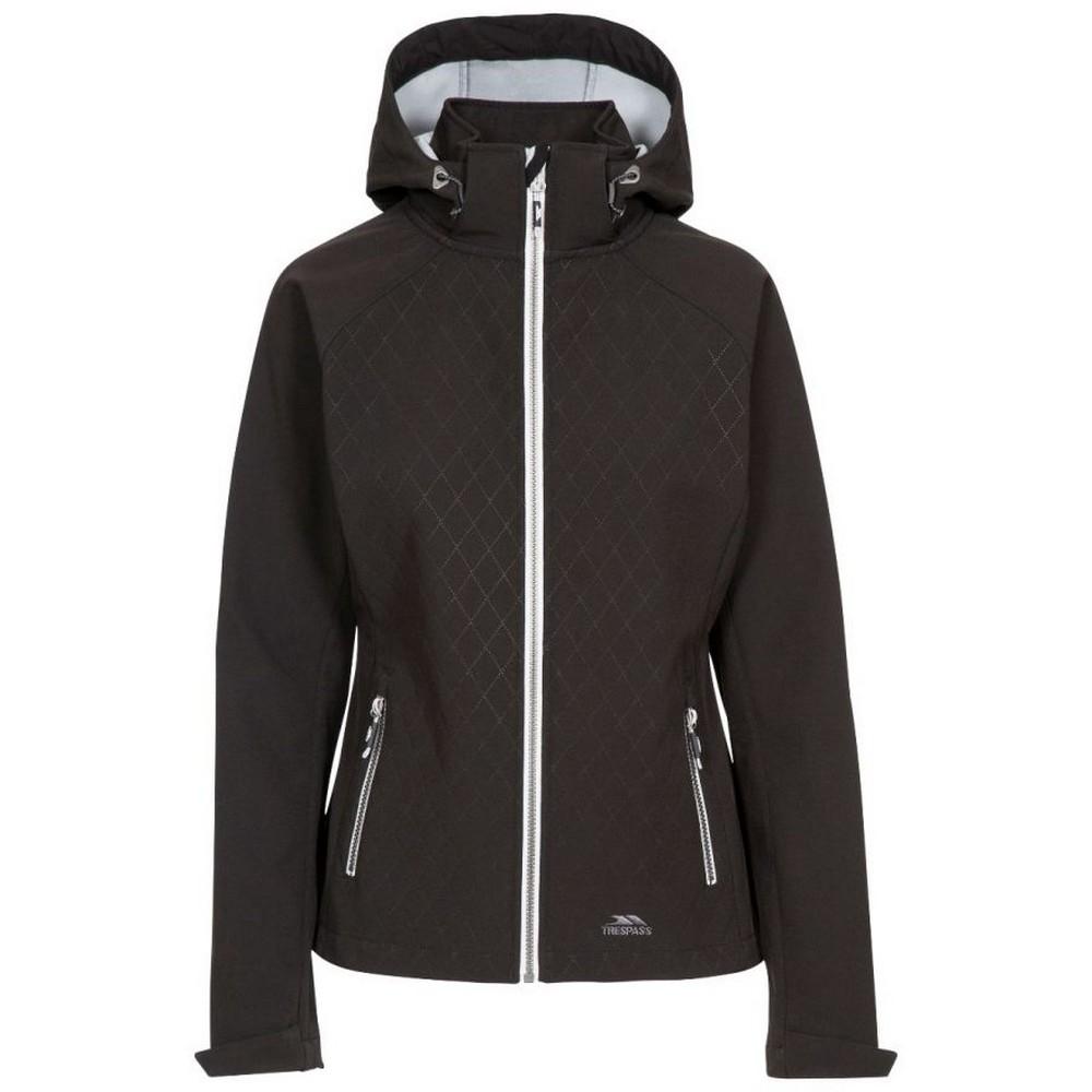 Trespass Womens/Ladies Nelly Soft Shell Jacket (XL) (Black)