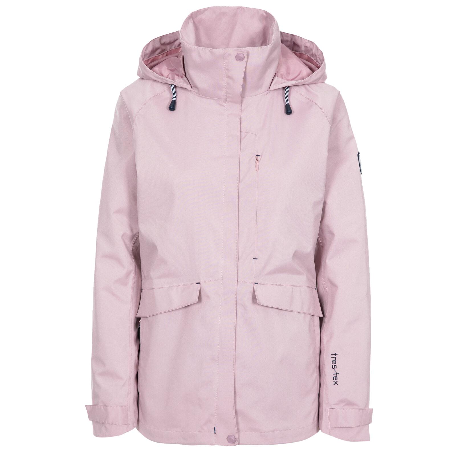 Trespass Womens/Ladies Voyage Waterproof Long-Sleeved Jacket (XS) (Light Lilac)