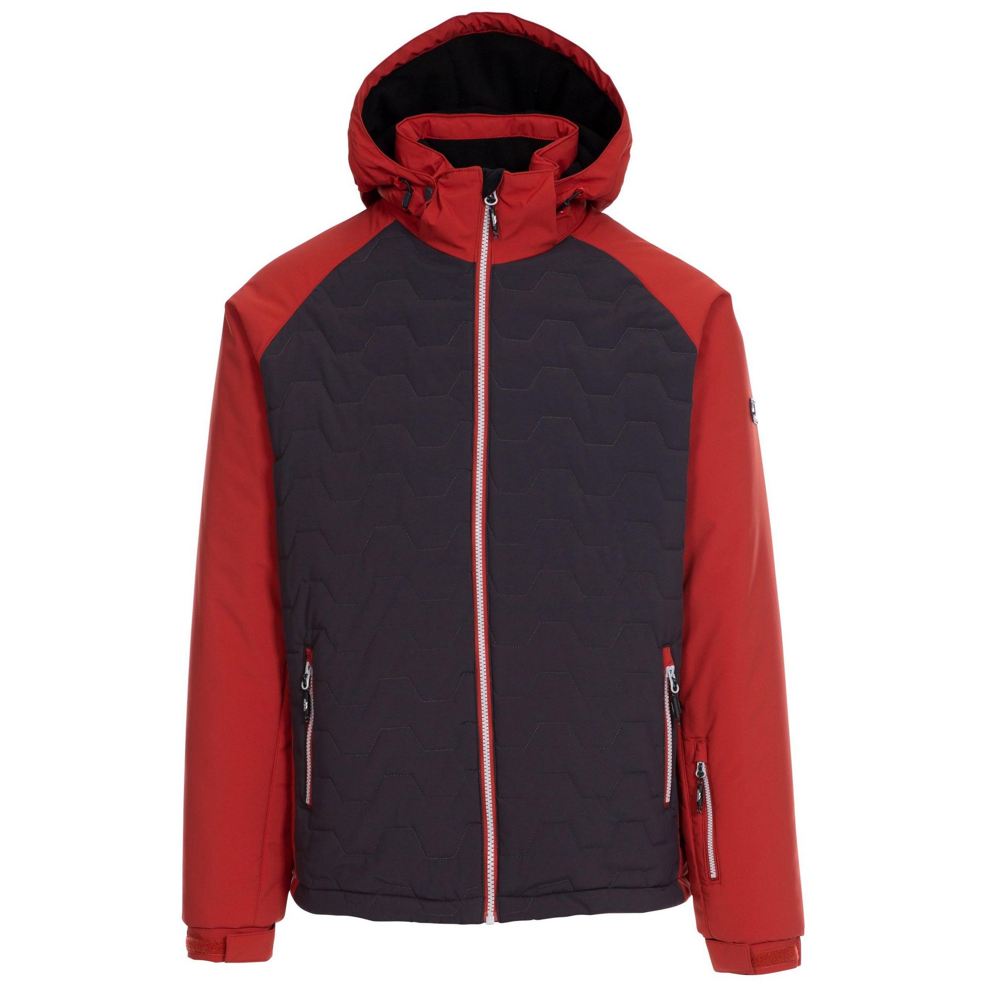 Trespass Mens Samson Ski Jacket (S) (Spice Red)