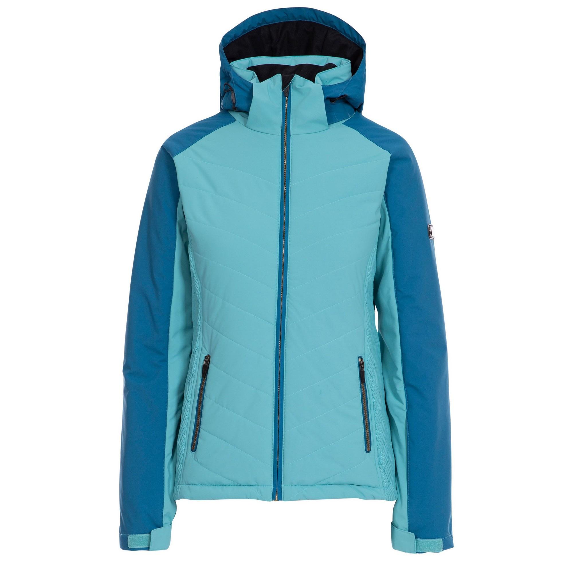 Trespass Womens/Ladies Eva Ski Jacket (XS) (Aqua Blue)