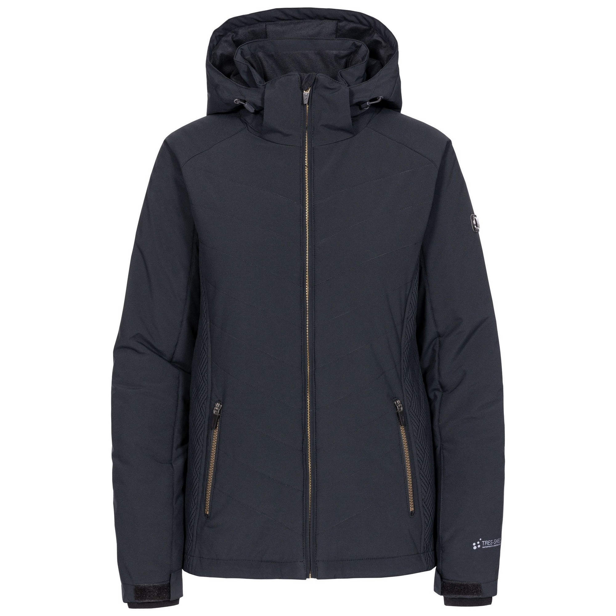 Trespass Womens/Ladies Eva Ski Jacket (XL) (Black)