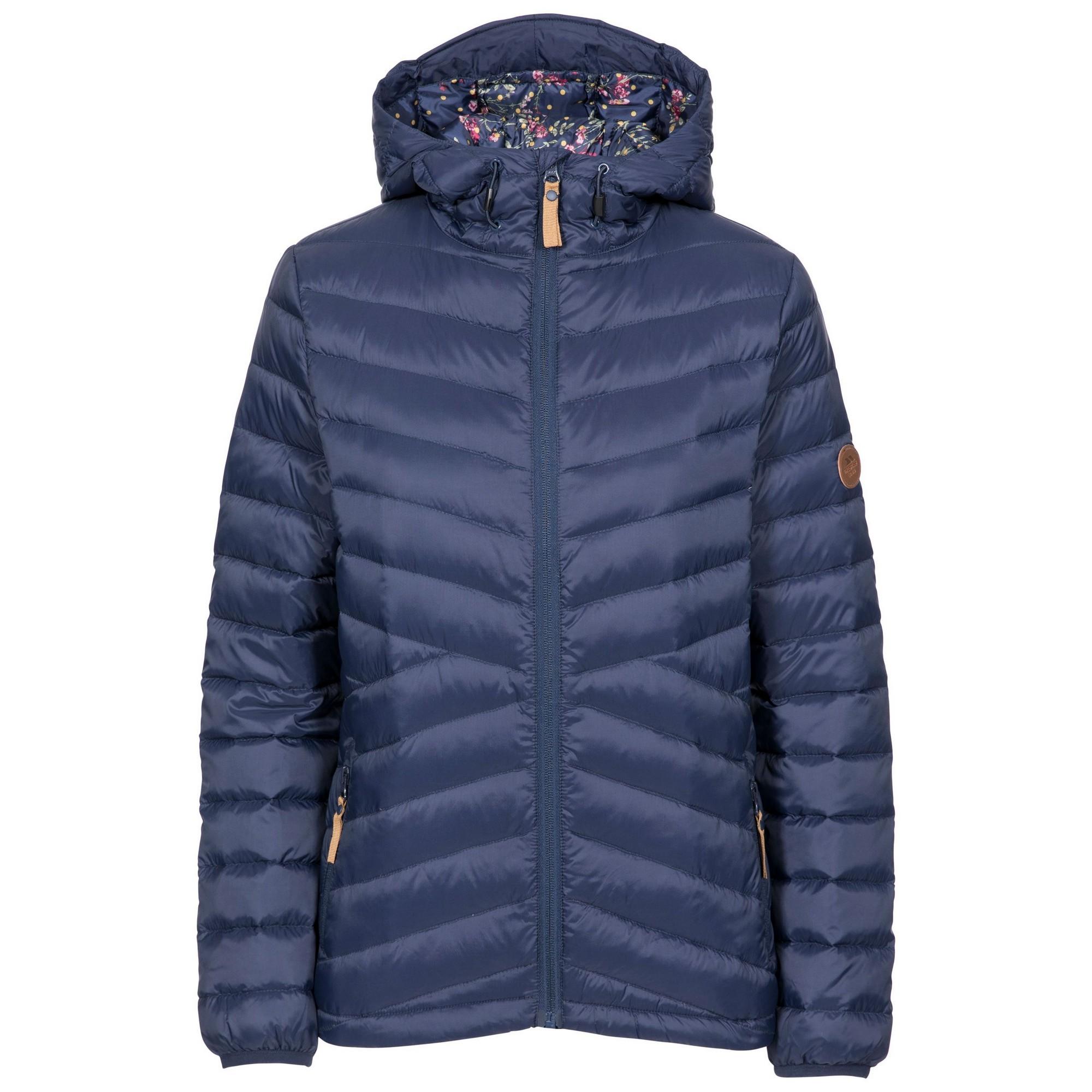 Trespass Womens/Ladies Thora Down Jacket (L) (Navy)