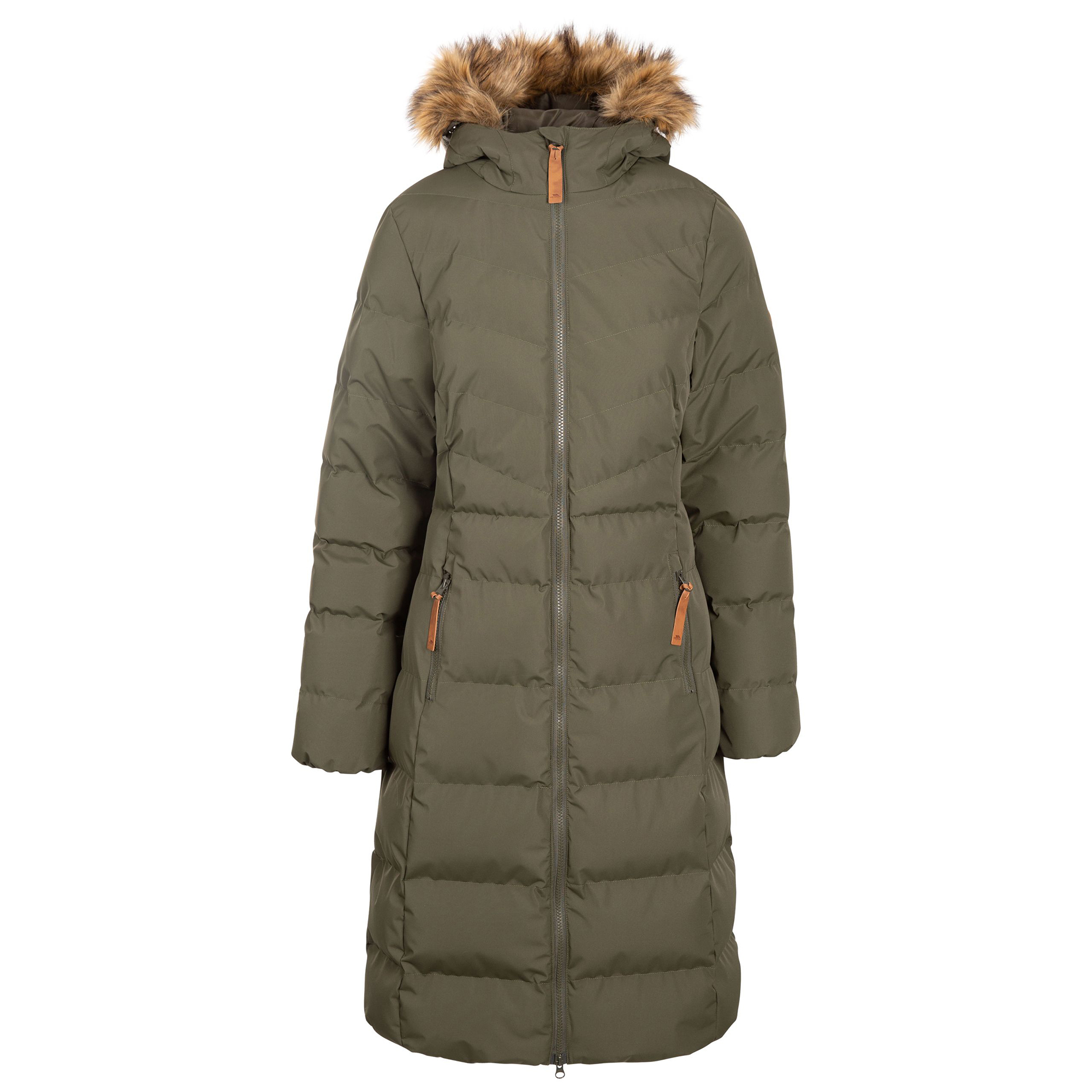 Trespass Womens/Ladies Audrey Padded Jacket (XS) (Sandstone)
