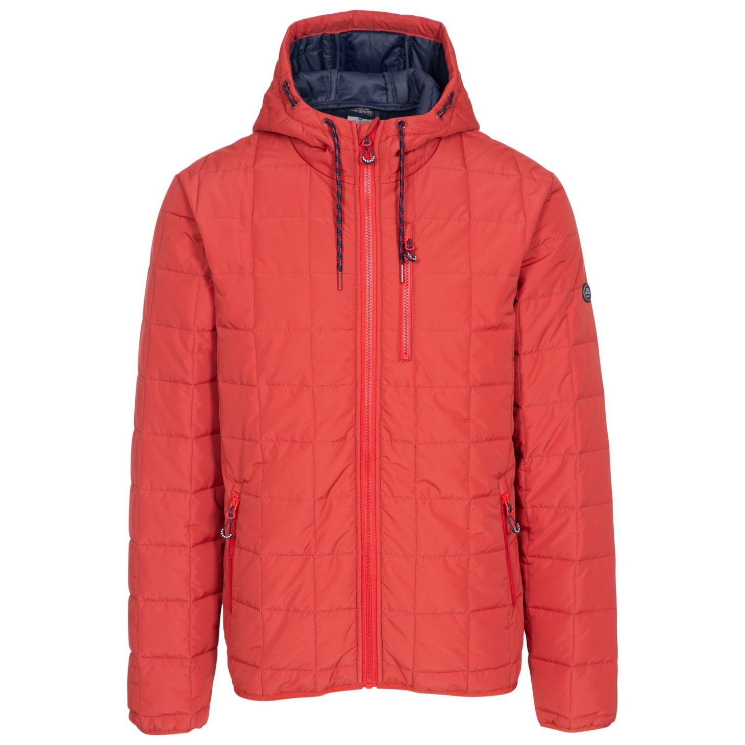 Trespass Mens Wytonhill Padded Jacket (3XL) (Spice Red)