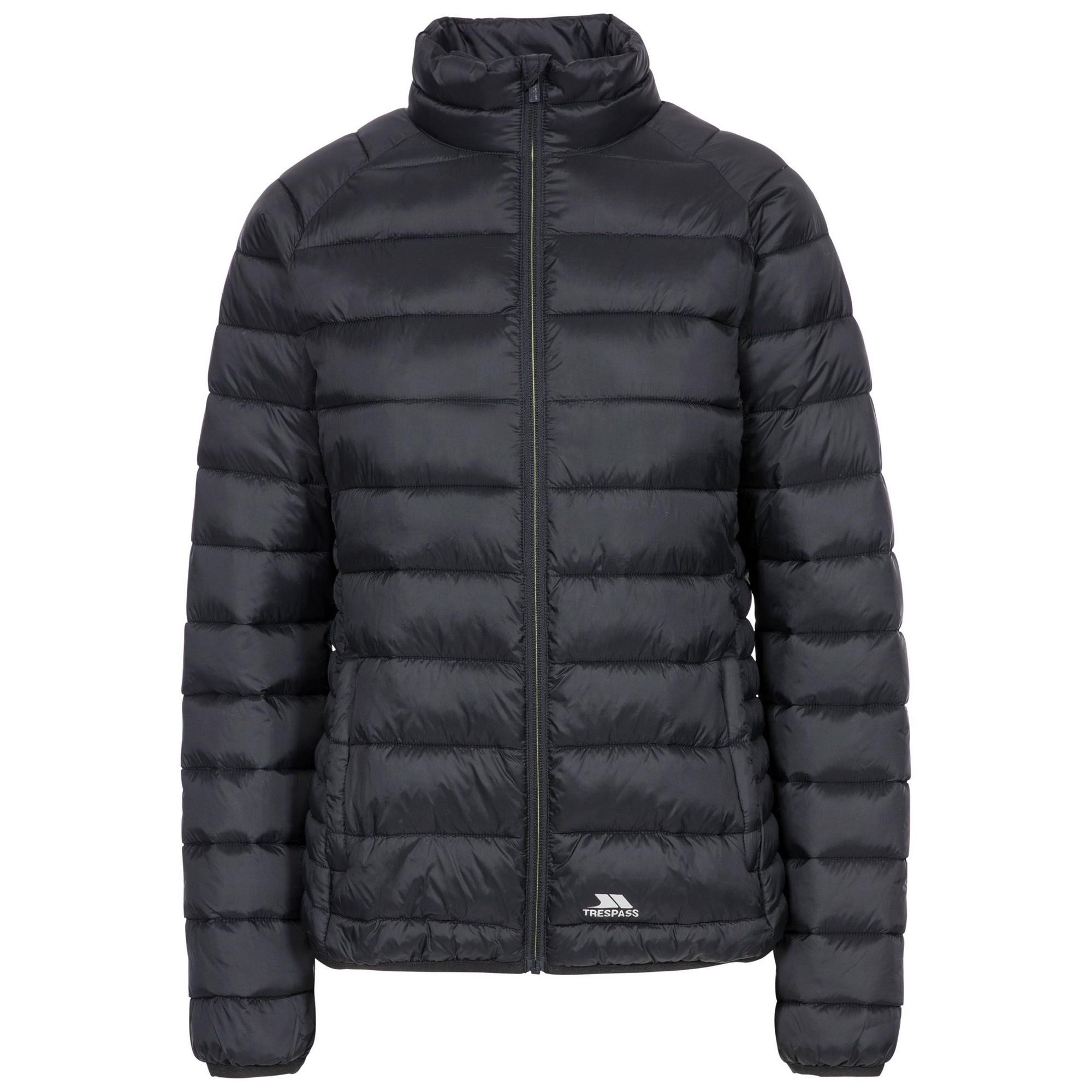 Trespass Womens/Ladies Marlene Padded Jacket (XL) (Black)