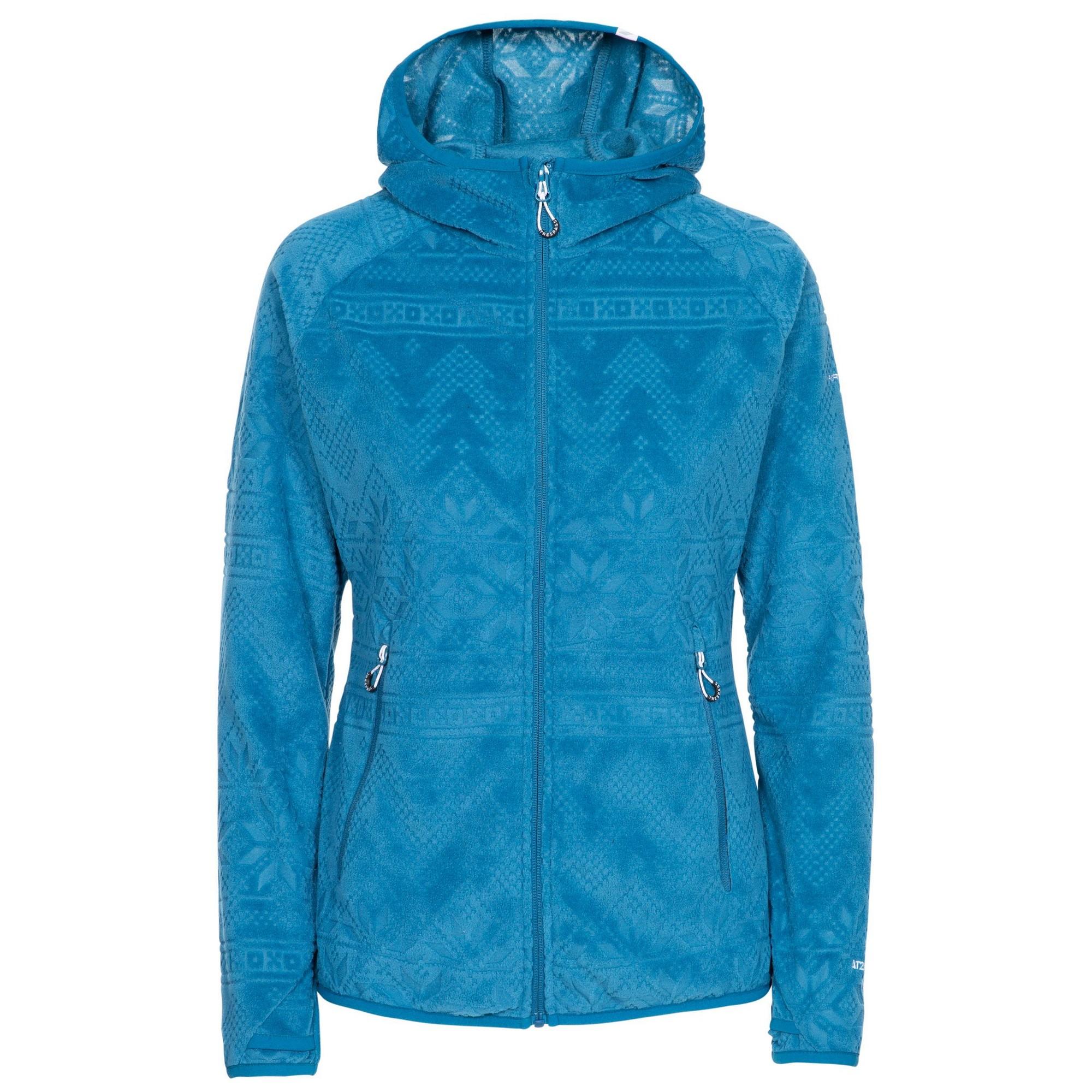 Trespass Womens/Ladies Snowbelle Fleece Jacket (XXS) (Cosmic Blue)