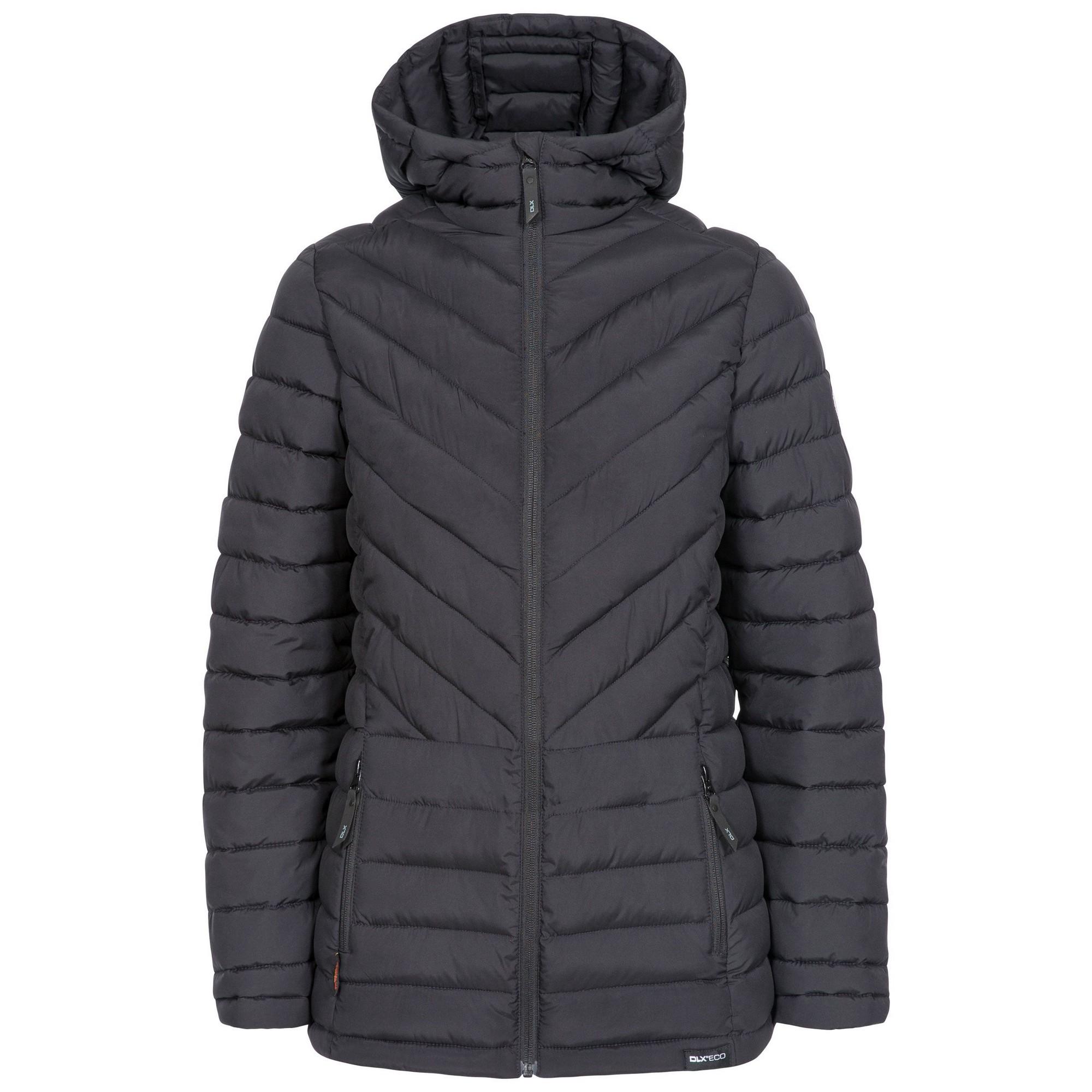 Trespass Womens/Ladies DLX Padded Jacket (XL) (Black)