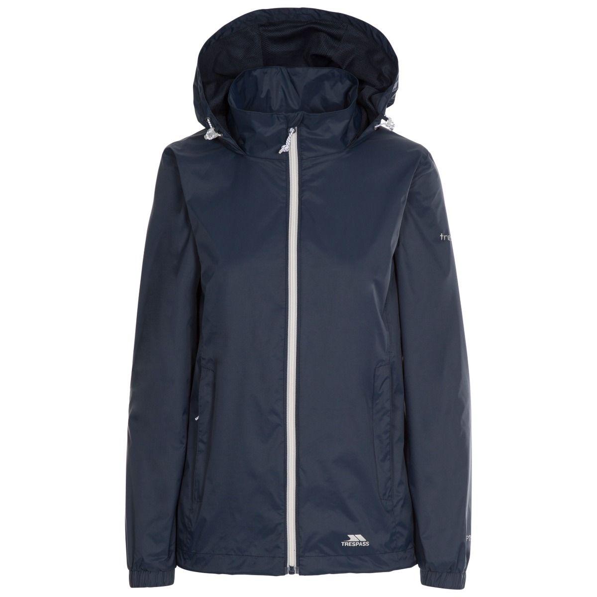 Trespass Womens/Ladies Sabrina Waterproof Jacket (XS) (Navy)