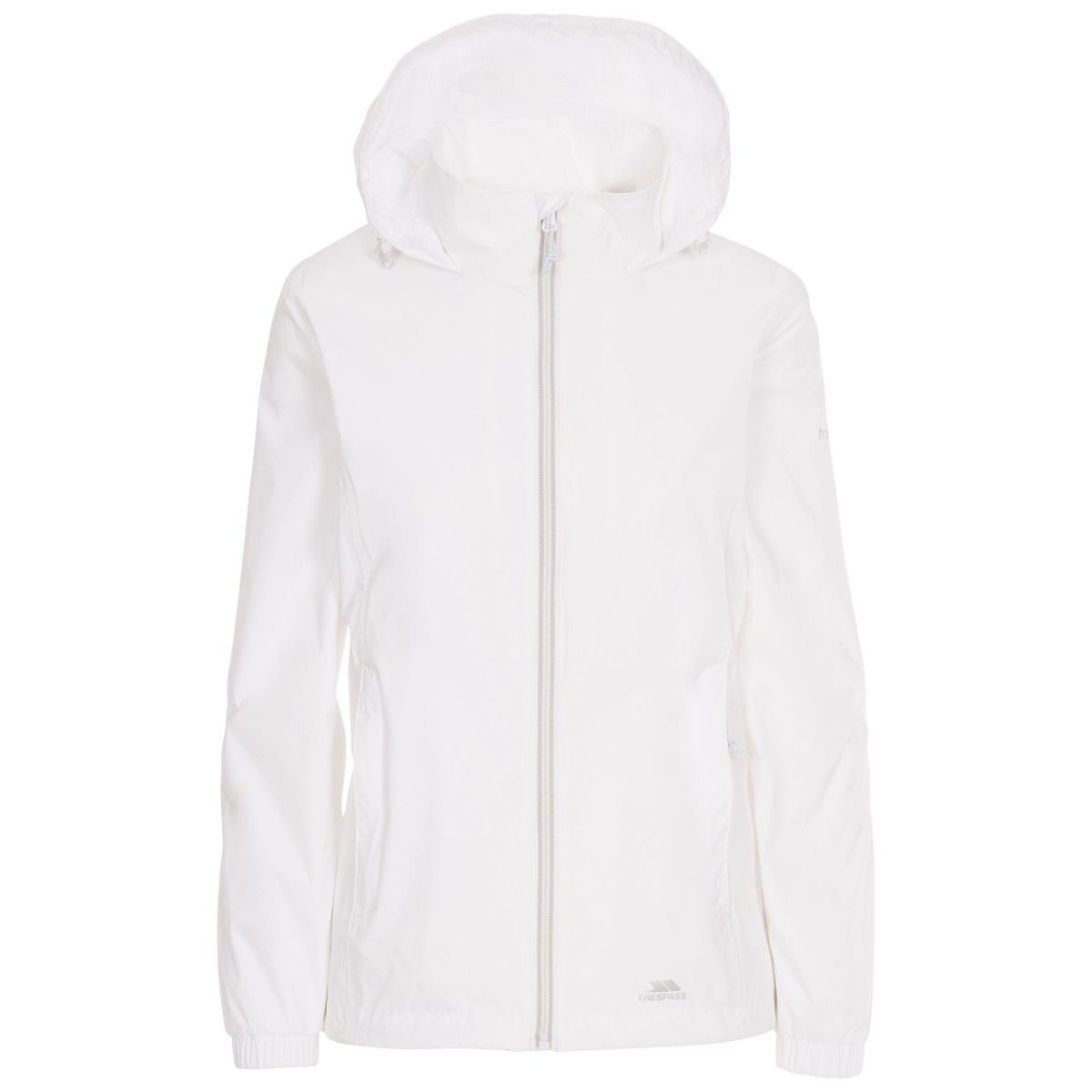 Trespass Womens/Ladies Sabrina Waterproof Jacket (3XL) (White)