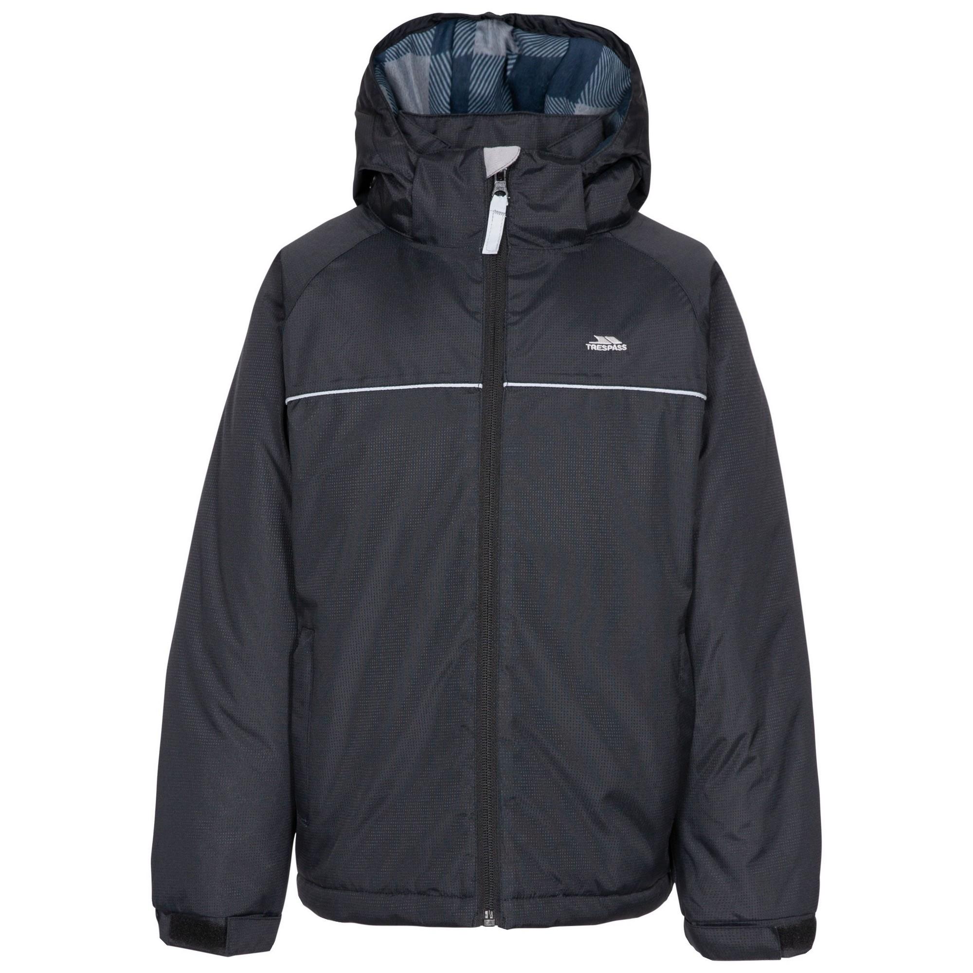 Trespass Boys Upright Padded Jacket (11-12 Years) (Black)