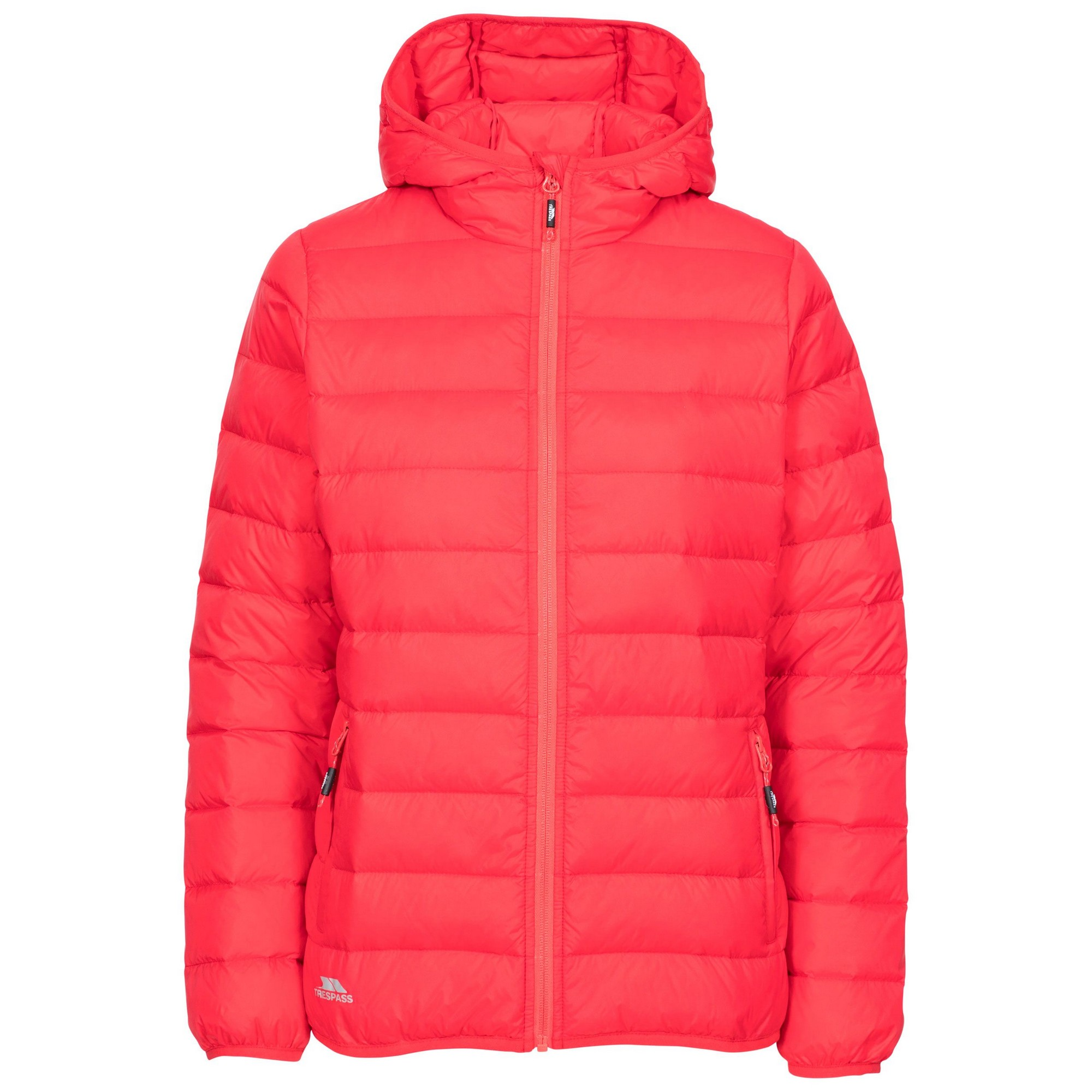 Trespass Womens/Ladies Amma Down Jacket (XXL) (Hibiscus Red)