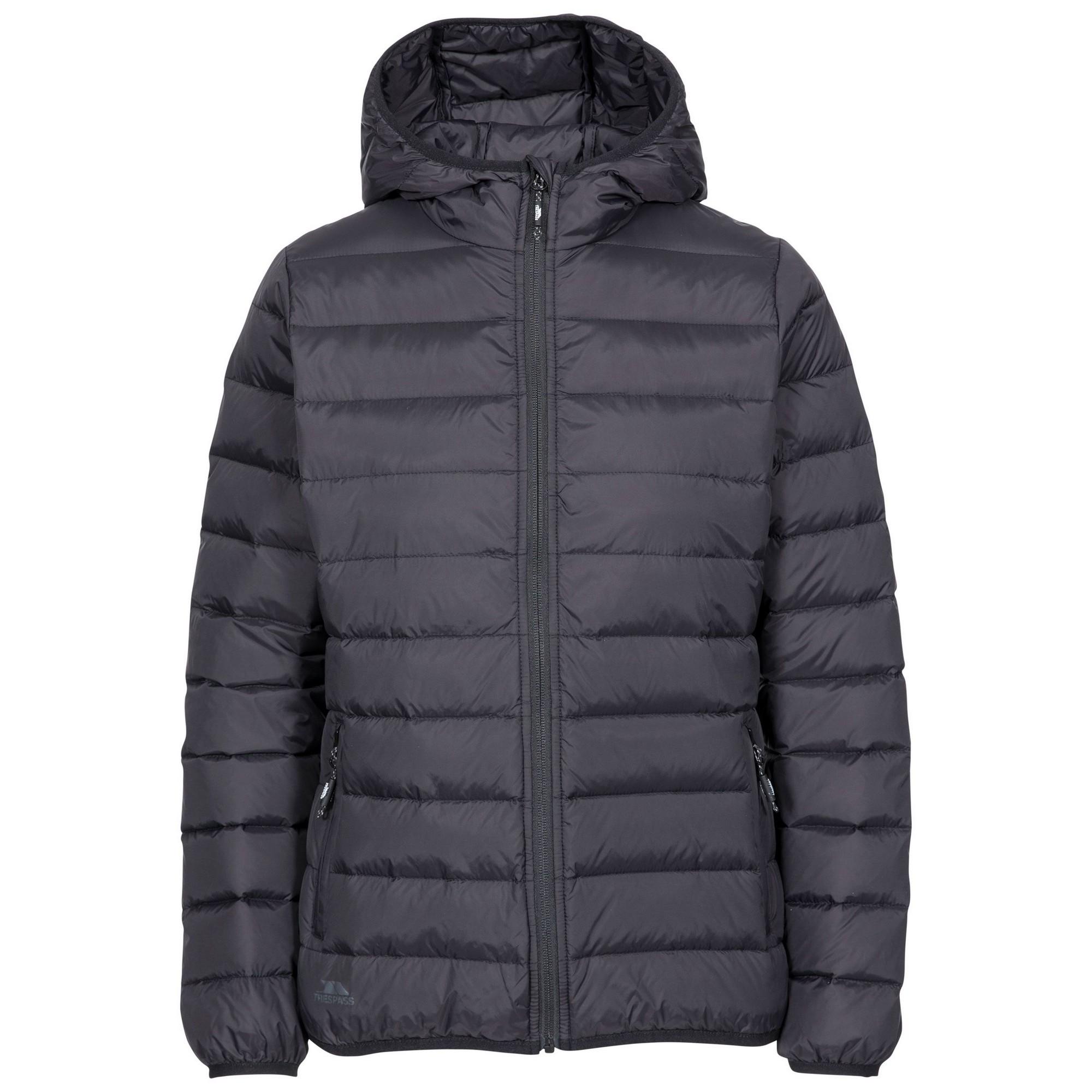 Trespass Womens/Ladies Amma Down Jacket (XXL) (Black)